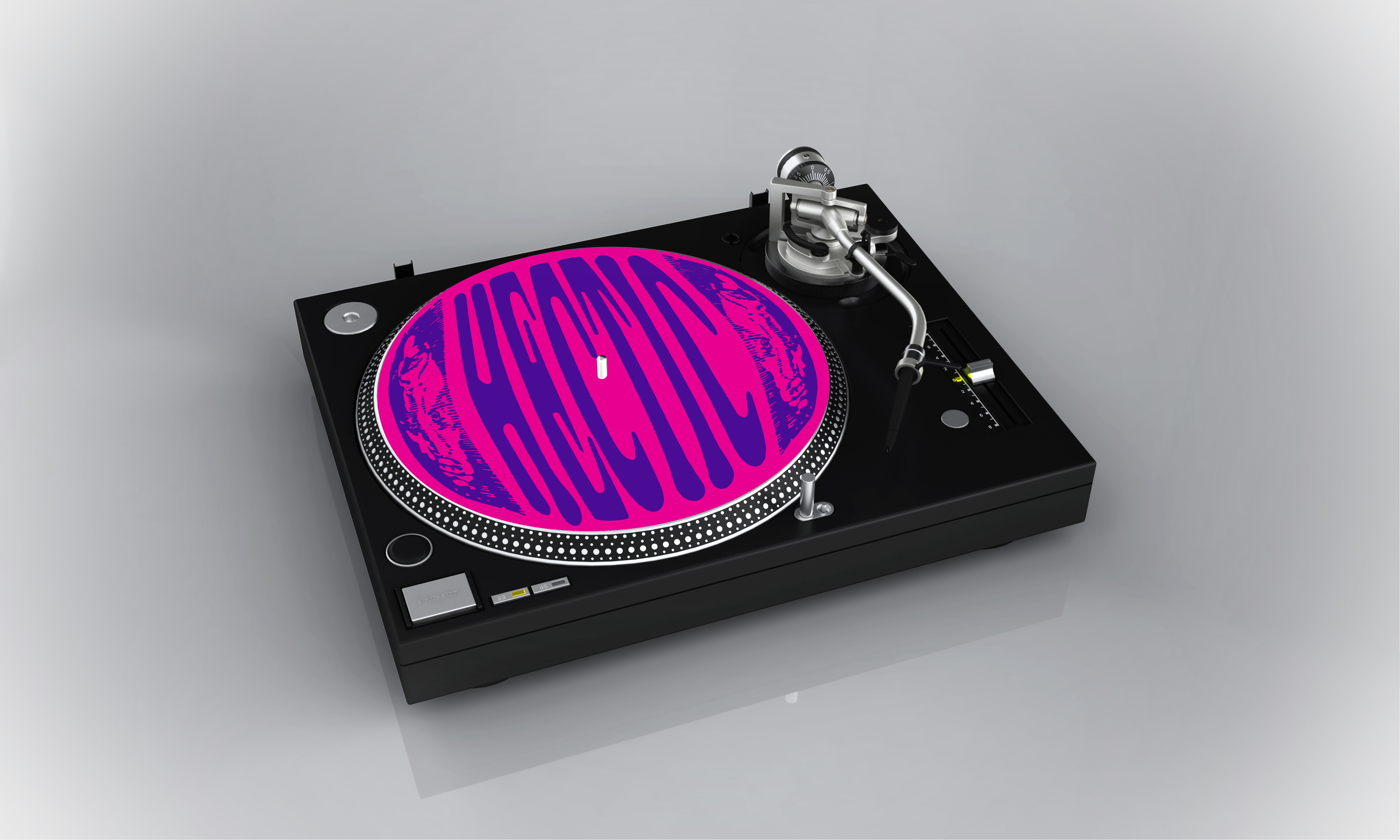 Hectic Slipmat (Choose your own colour)
