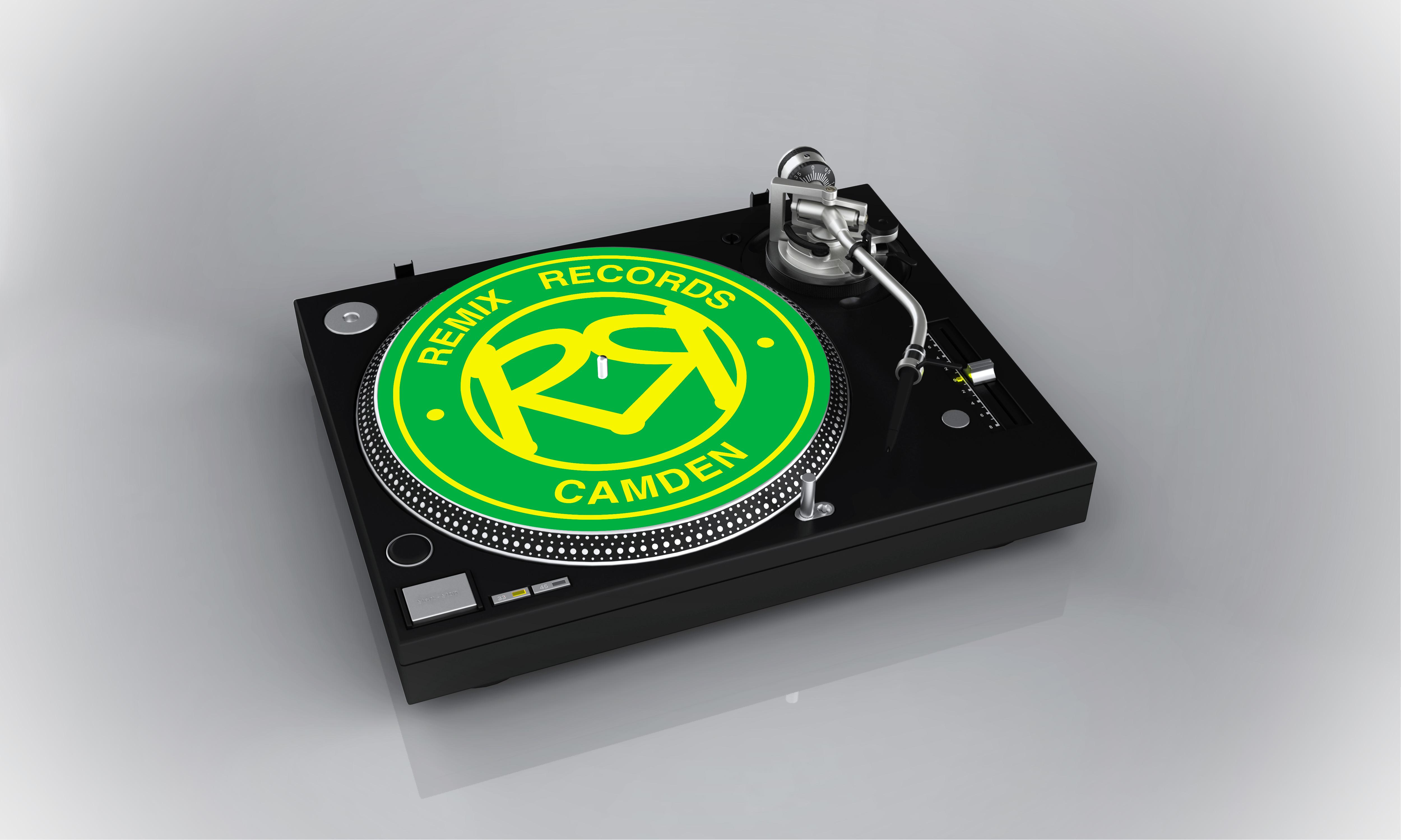 Remix Records Slipmat (Choose your own colour)