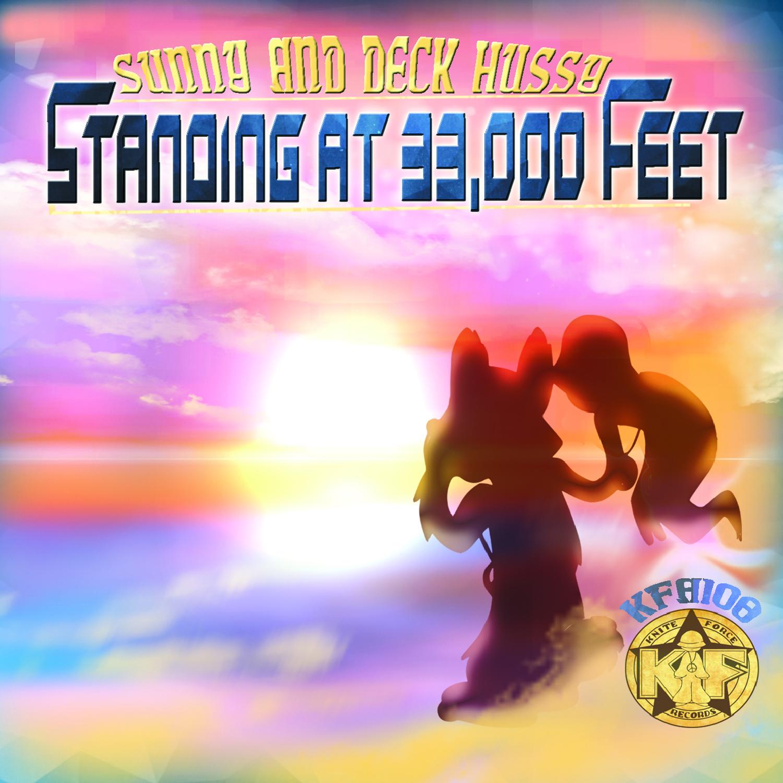 [KFA108] Sunny & Deck Hussy - Standing At 33,000 Feet (CD + Digital)