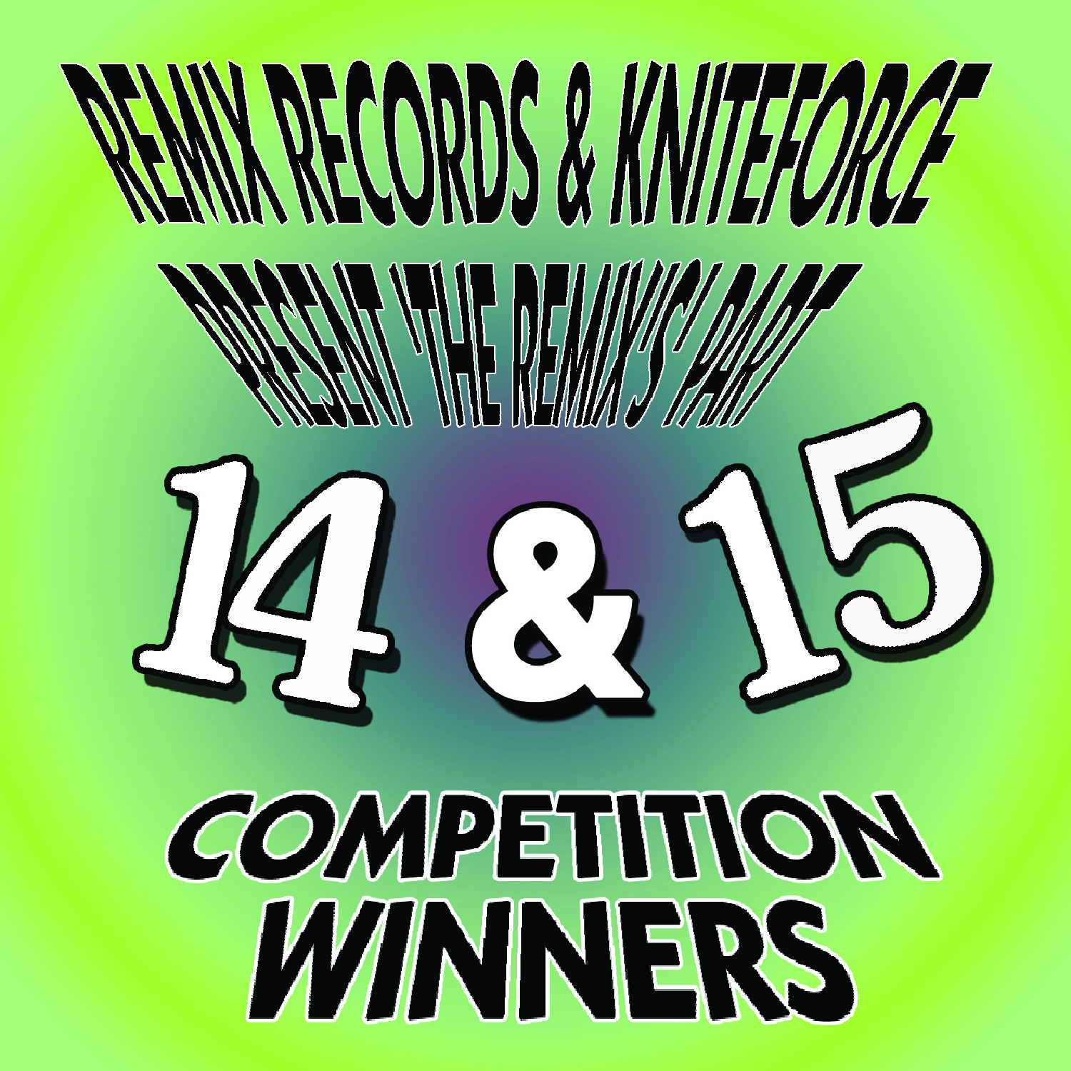 [KFCD37] Various - Remix's 14 & 15 Competion Winners EP (CD + Digital)