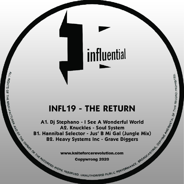 "[INFL19] Various - The Return EP (12"" Vinyl + Digital)"
