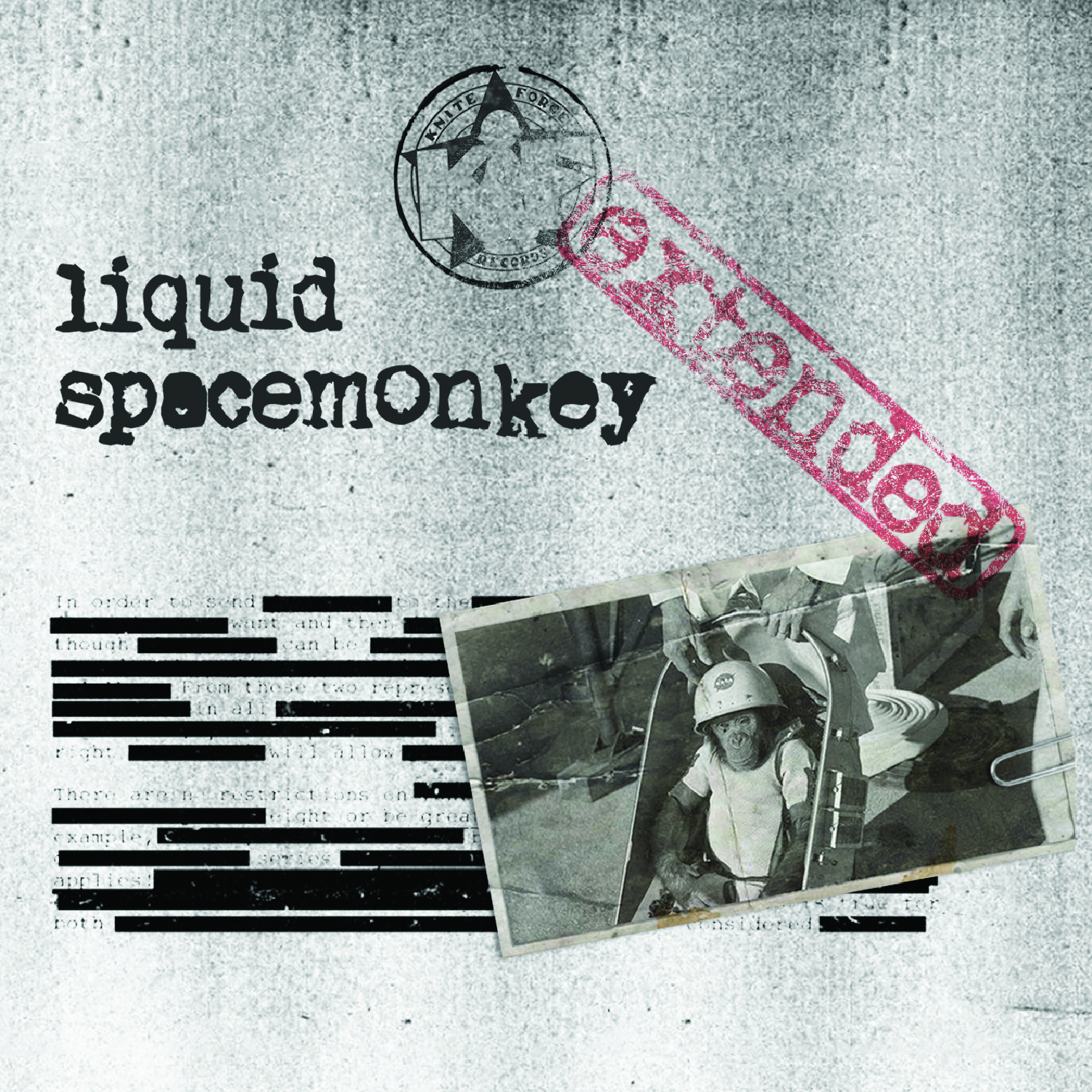 [KFCD021] Liquid - Space Monkey (Extended) (Digital Only)