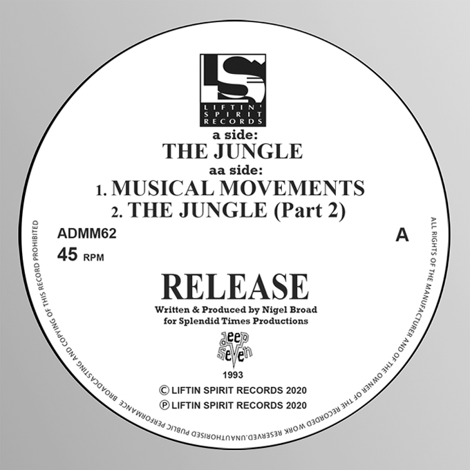 "[ADMM62] Release - The Jungle EP (12"" Vinyl)"