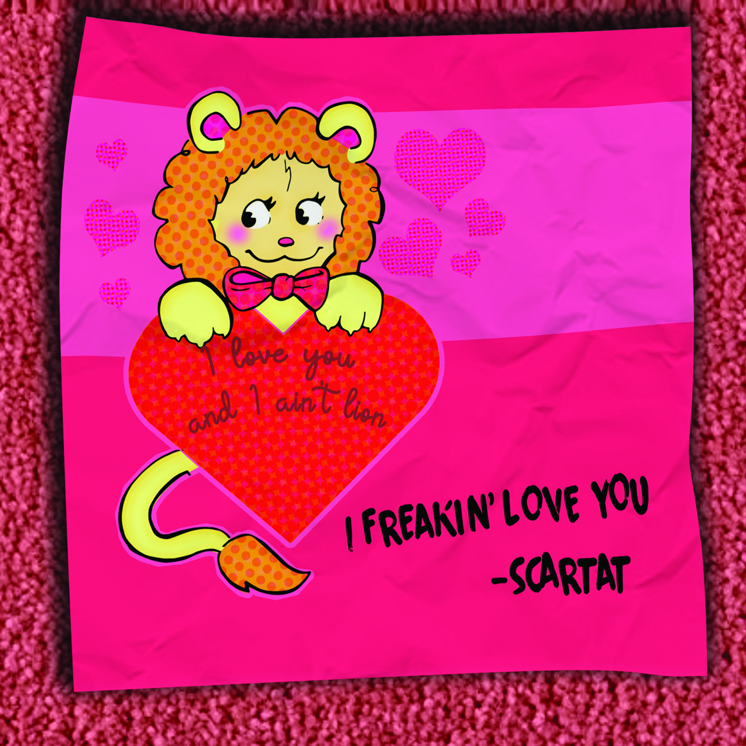 [KFA109] Scartat - I Freakin' Love You EP (CD + Digital)