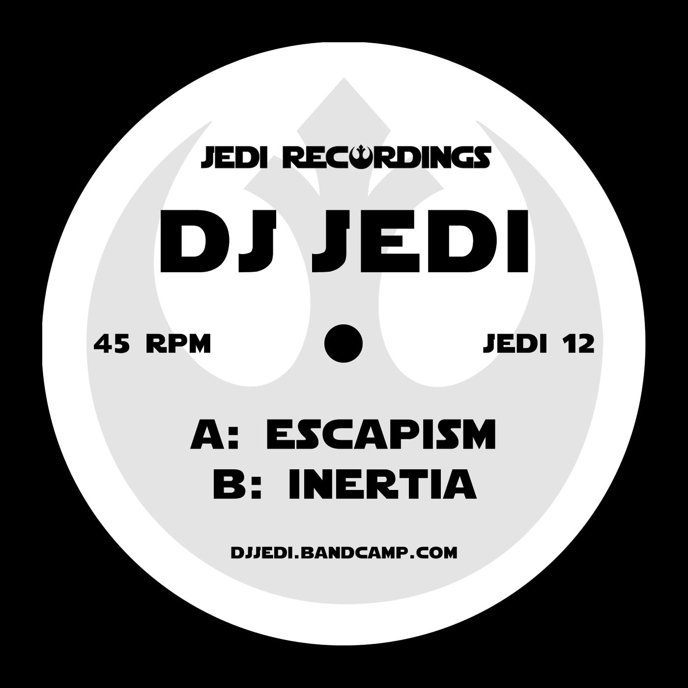 "[JEDI12] Dj Jedi - Escapism EP (12"" Vinyl)"