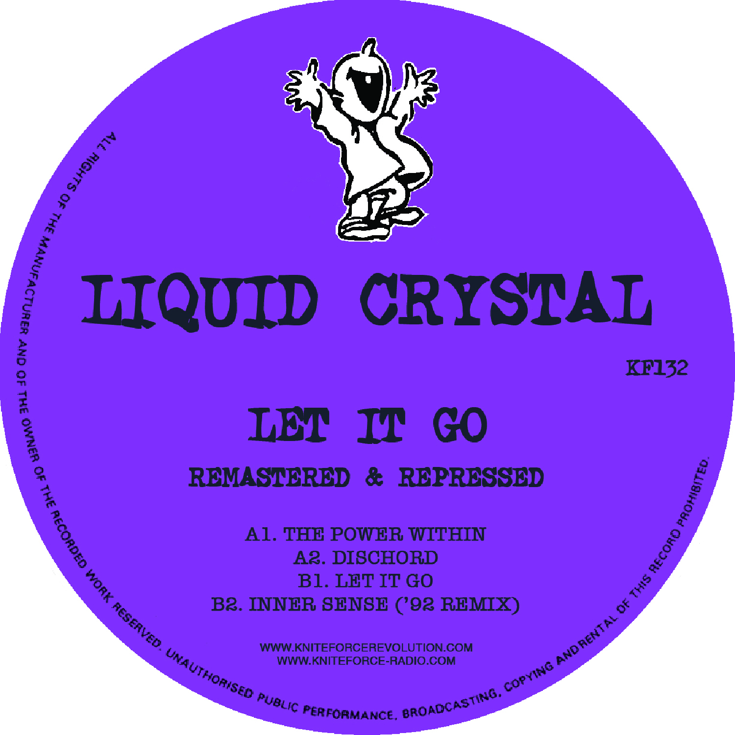 "[KF132] Liquid Crystal - Let It Go EP (12"" Vinyl + Digital)"
