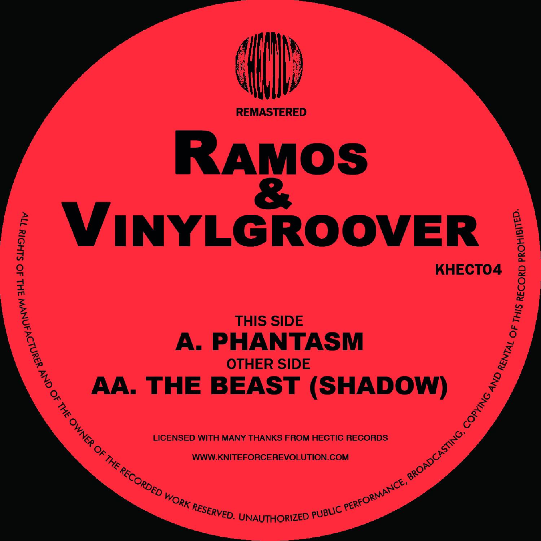 "[KHECT04] Ramos & Vinylgroover - Phantasm EP (12"" Vinyl + Digital)"