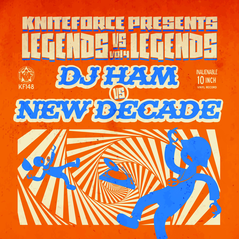 """[KF148] Dj Ham Vs New Decade - Legends Vs Legends Vol. 4 (10"""" Vinyl + Digital)"""
