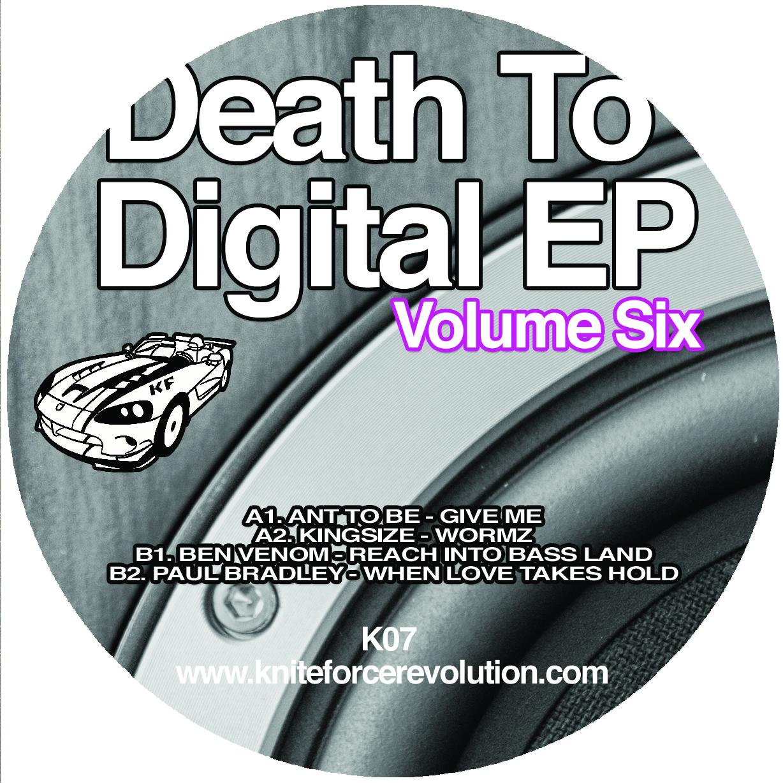 """[K07] Various Artists - Death To Digital EP Vol.6 (12"""" Vinyl + Digital)"""