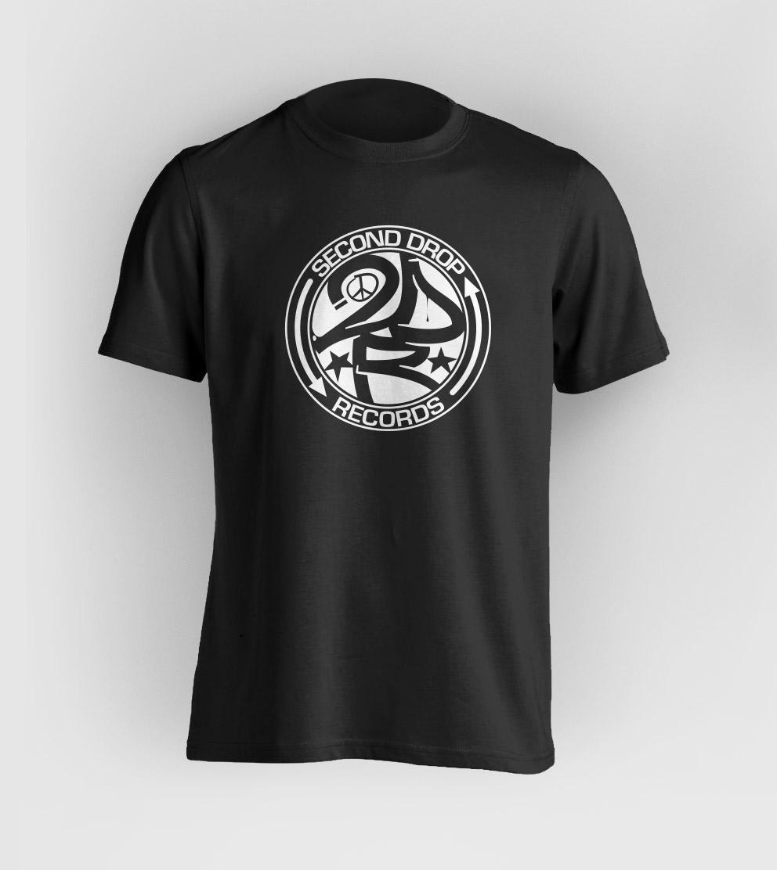 Second Drop Records Logo T-Shirt