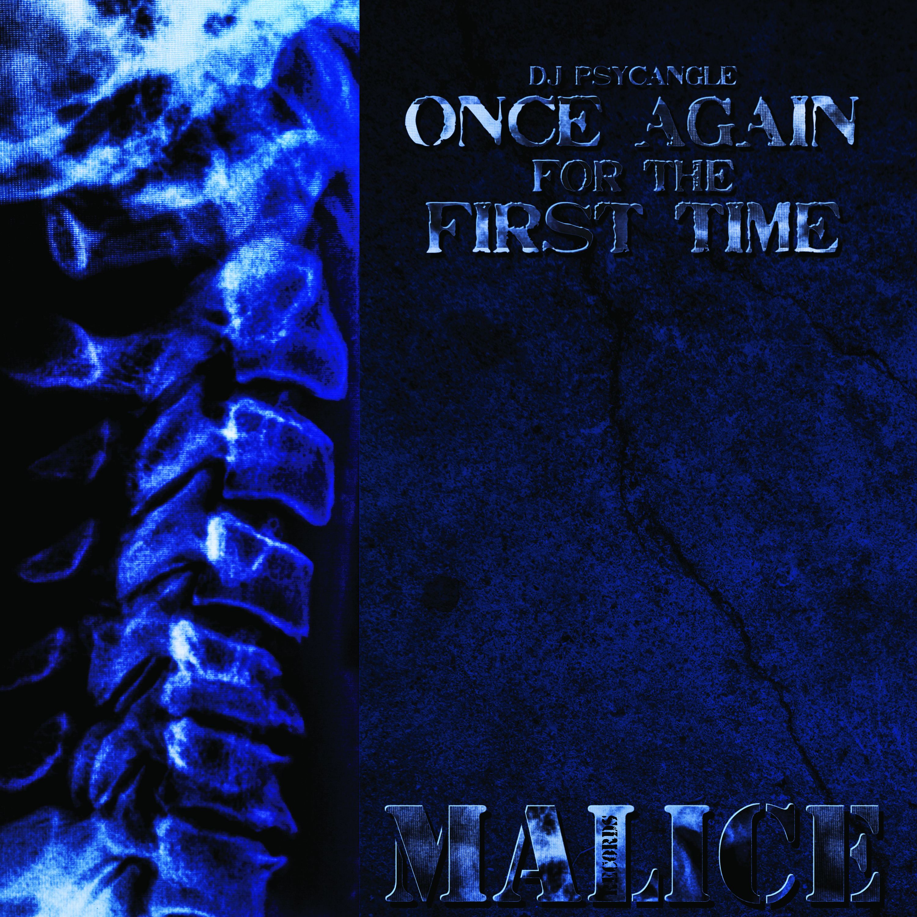 """[MALICE09] Dj Psycangle - Once Again For The First Time EP (12"""" Vinyl + Digital)"""