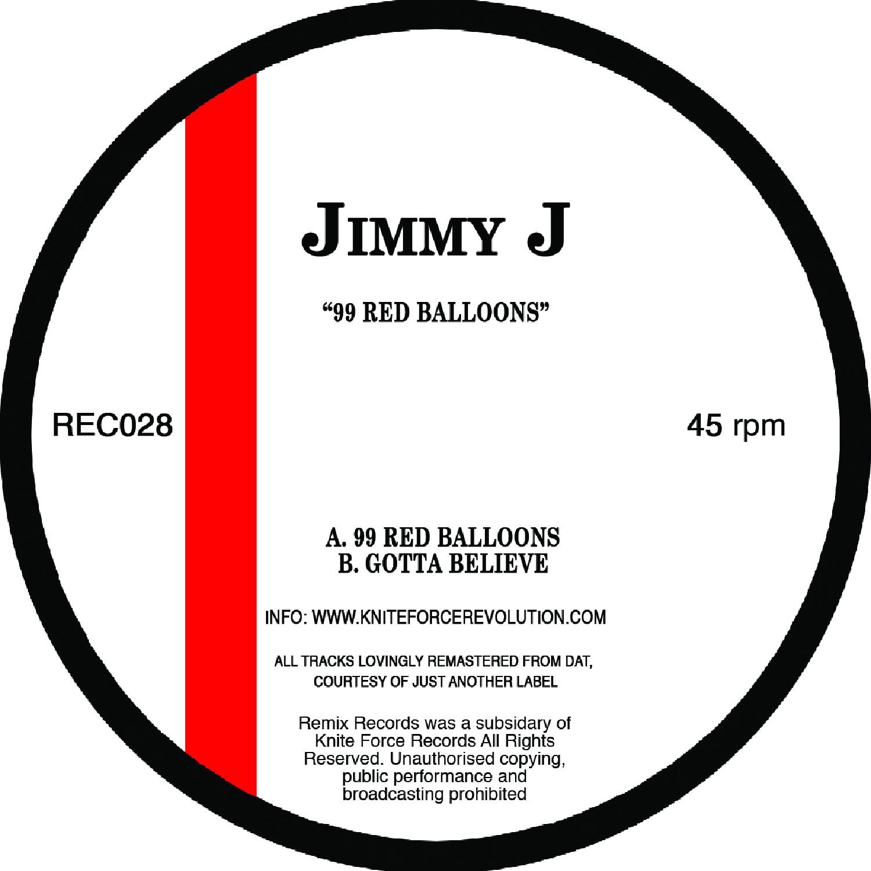 "[REC028] Jimmy J - 99 Red Ballons EP (12"" Vinyl + Digital)"