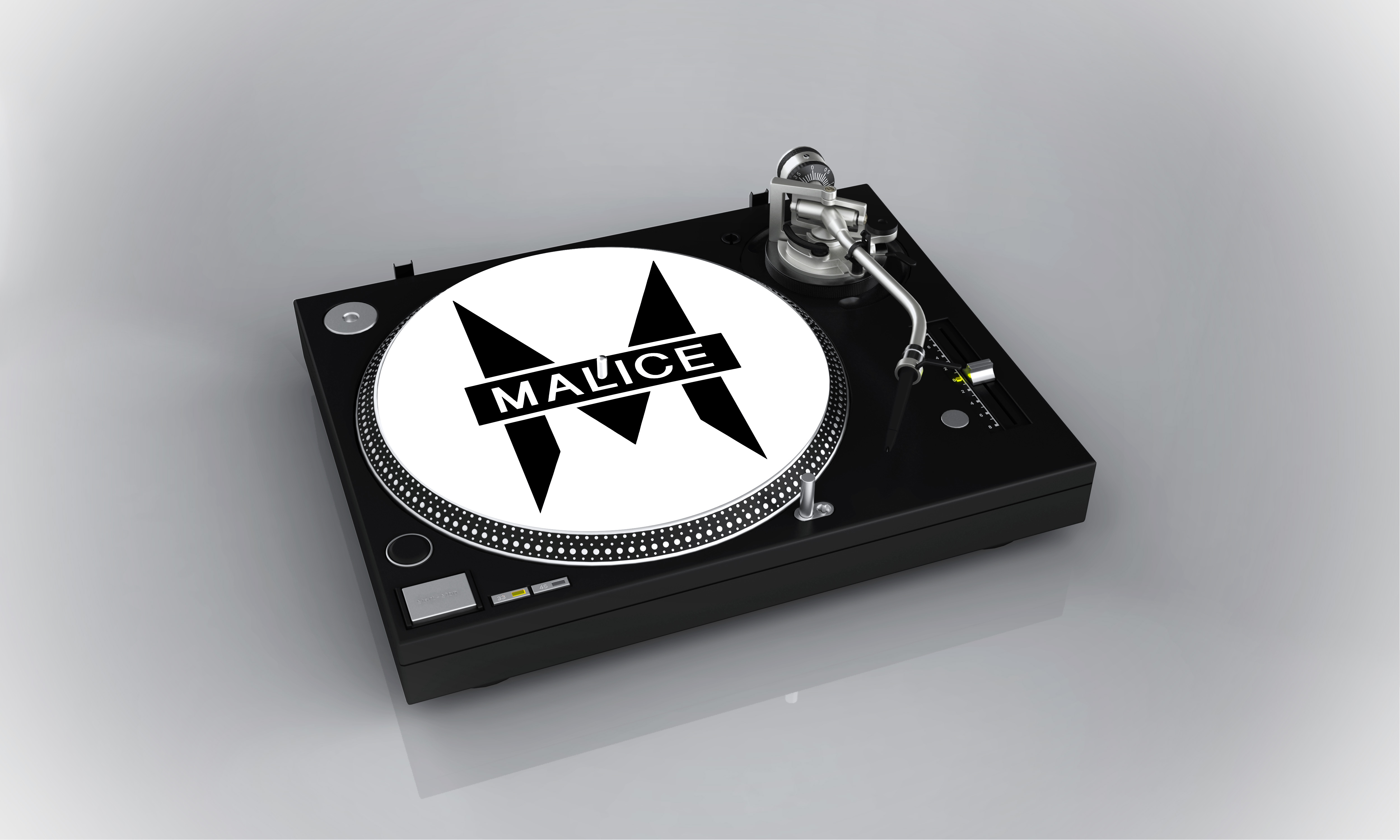 Malice Slipmat (Choose your own colour)