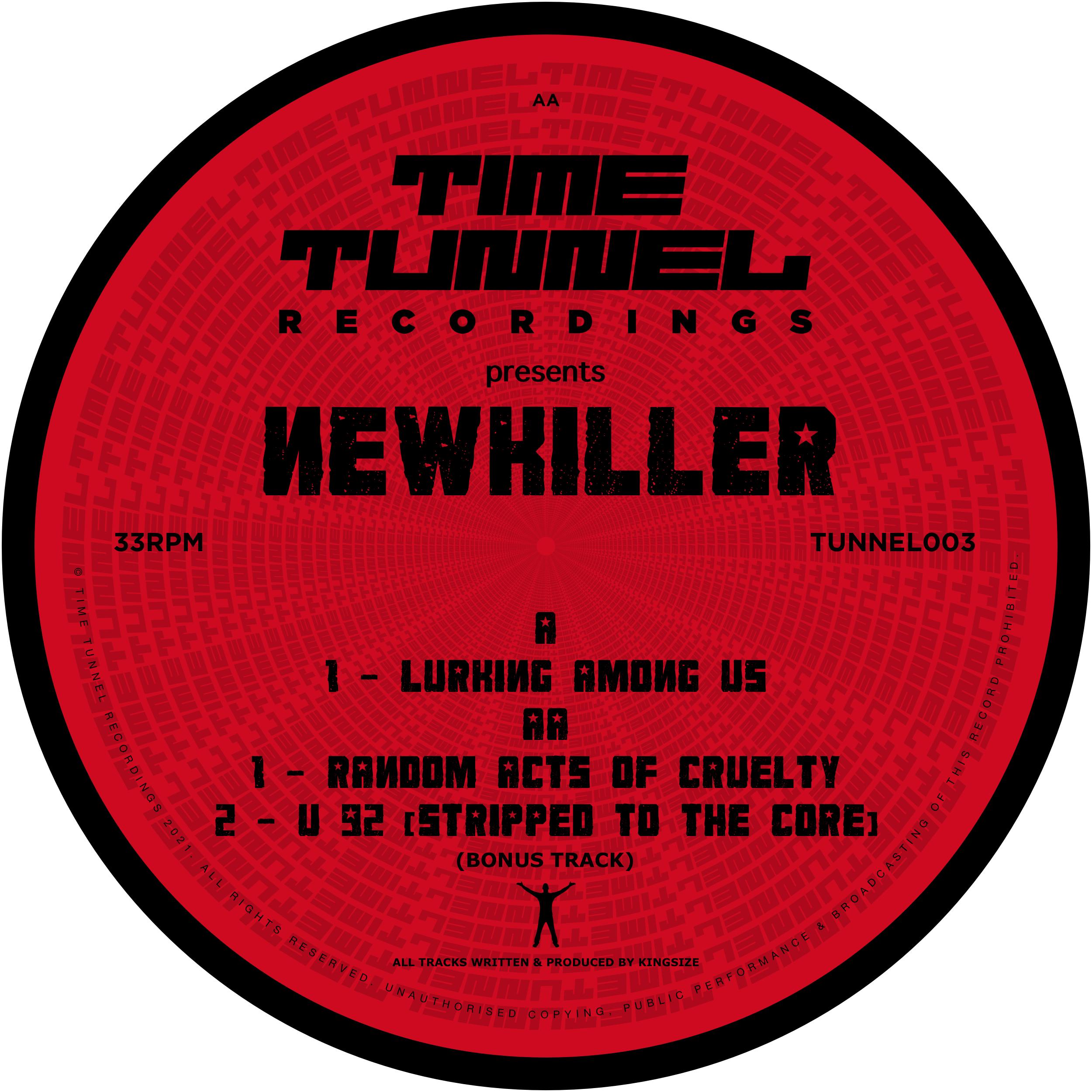 "[TUNNEL03] Newkiller - Lurking Among Us EP (12"" Vinyl)"