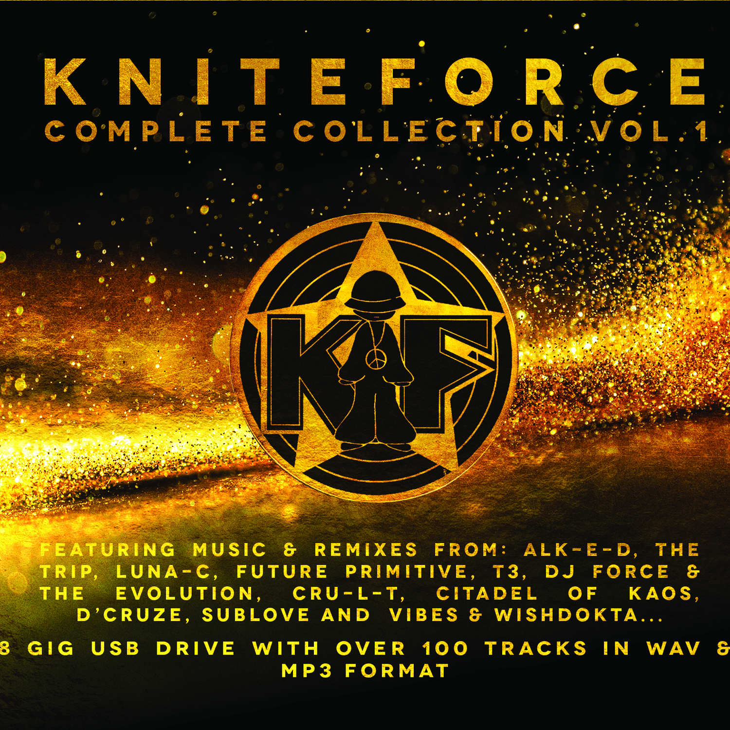 [KFZ06] Various Artists - Kniteforce Complete Collection Volume One (KF01-KF20) (USB)