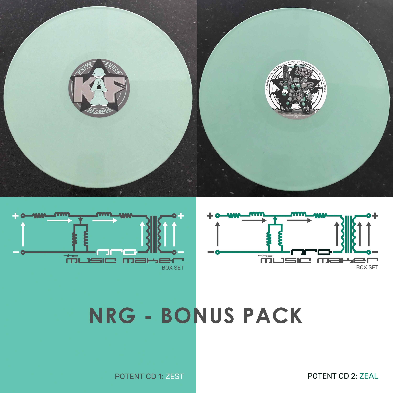 """[KF165X] NRG - The NRG Box Set Bonus Pack (12"""" Vinyl + Digital)"""