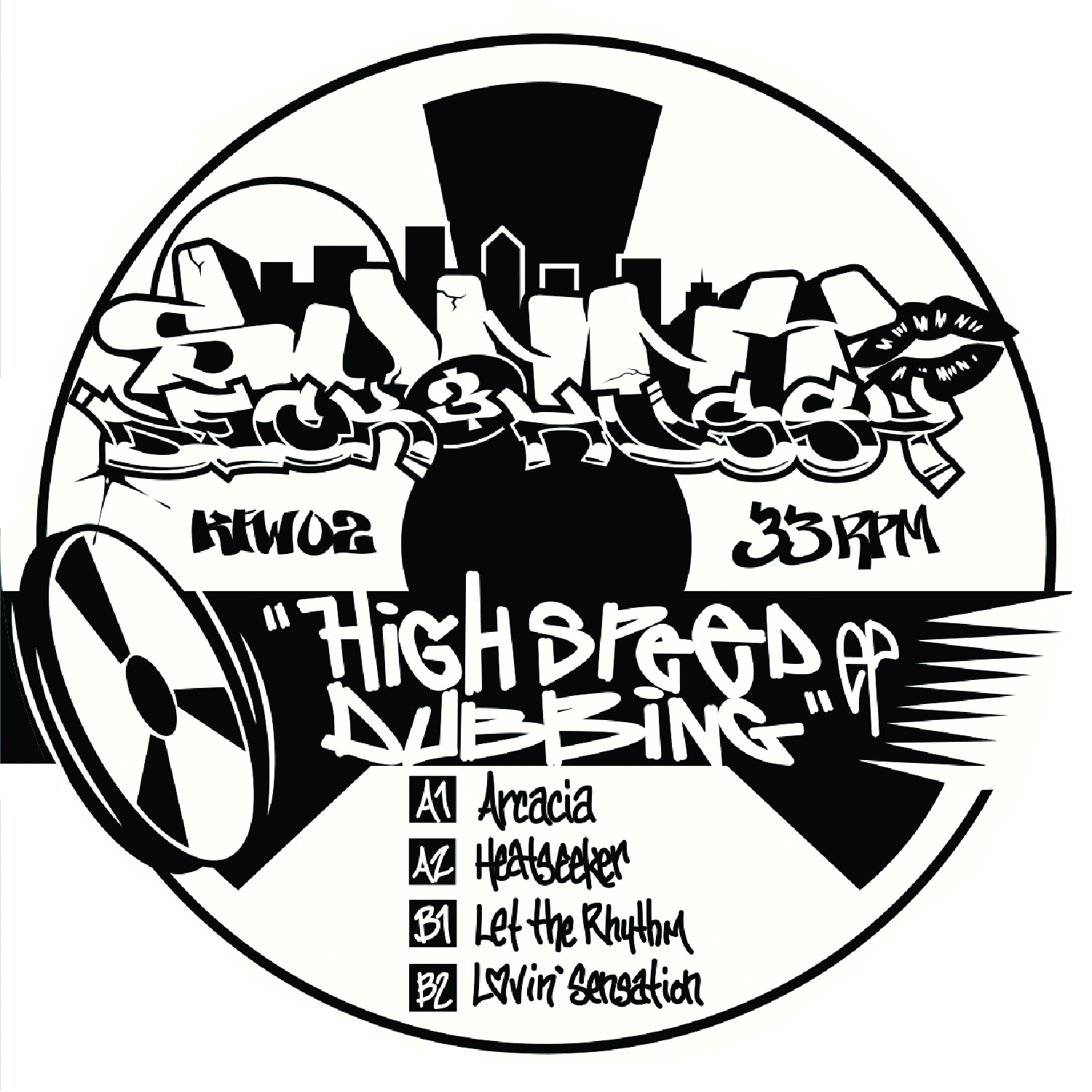 [KFW002] Sunny & Deck Hussy - High Speed Dubbing EP (Digital Only)
