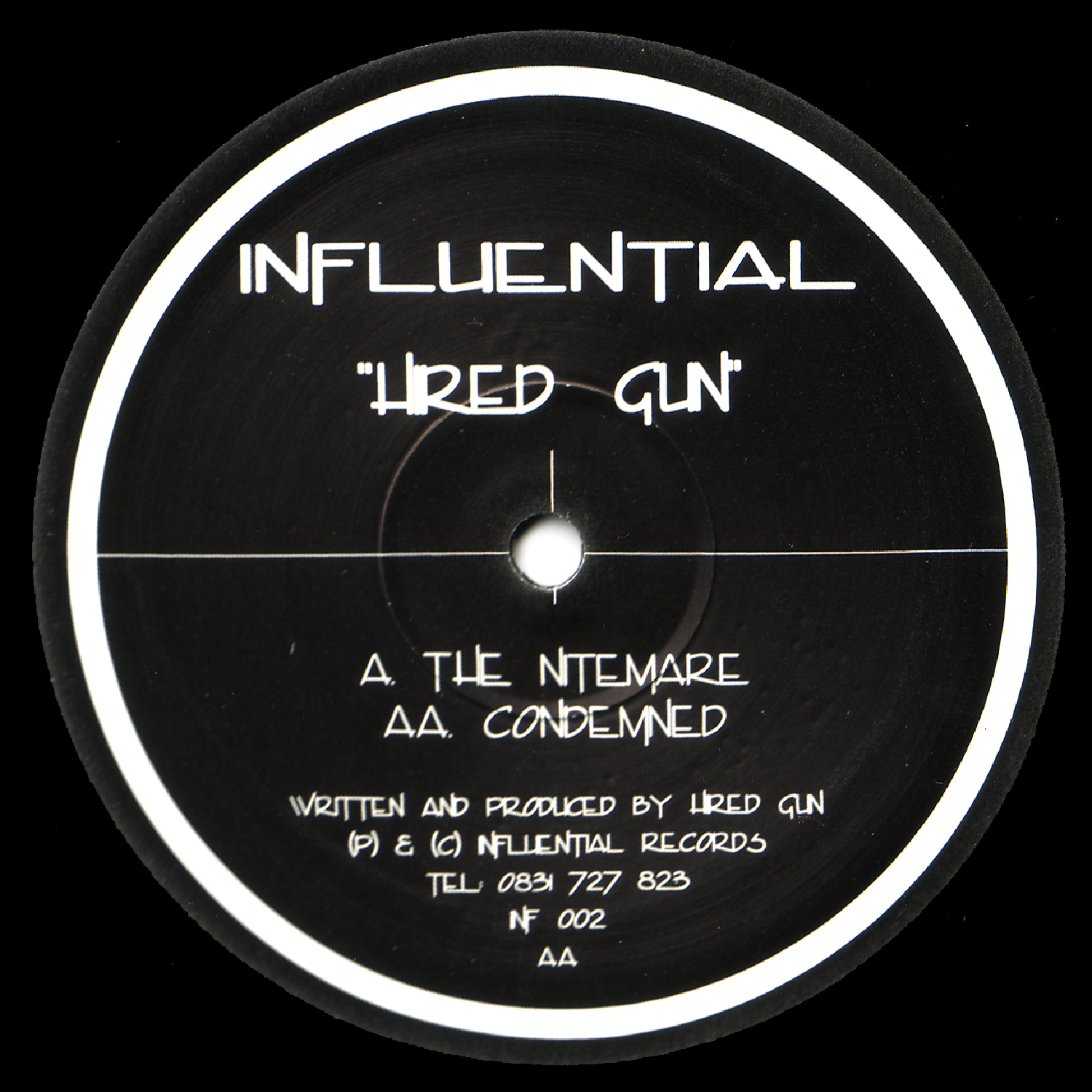 [INFL002] Hired Gun - The Nitemare EP (Digital Only)