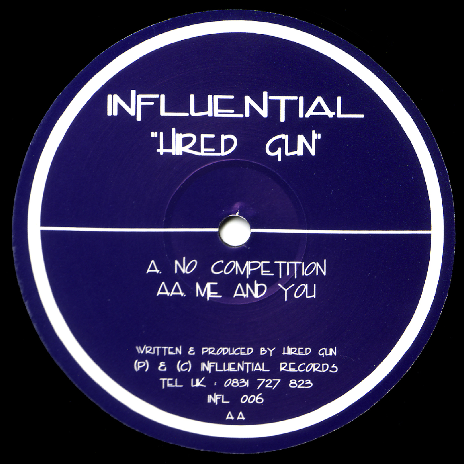 [INFL006] Hired Gun - No Competition EP (Digital Only)