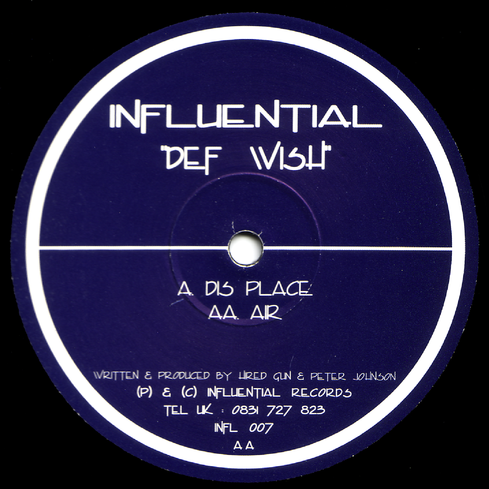 [INFL007] Def Wish - Dis Place EP (Digital Only)