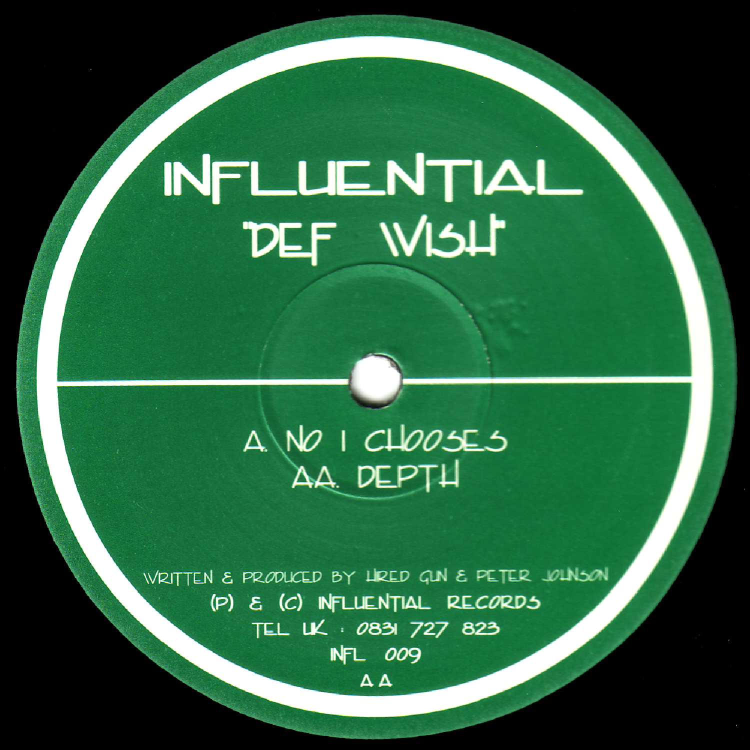 [INFL009] Def Wish - No One EP (Digital Only)