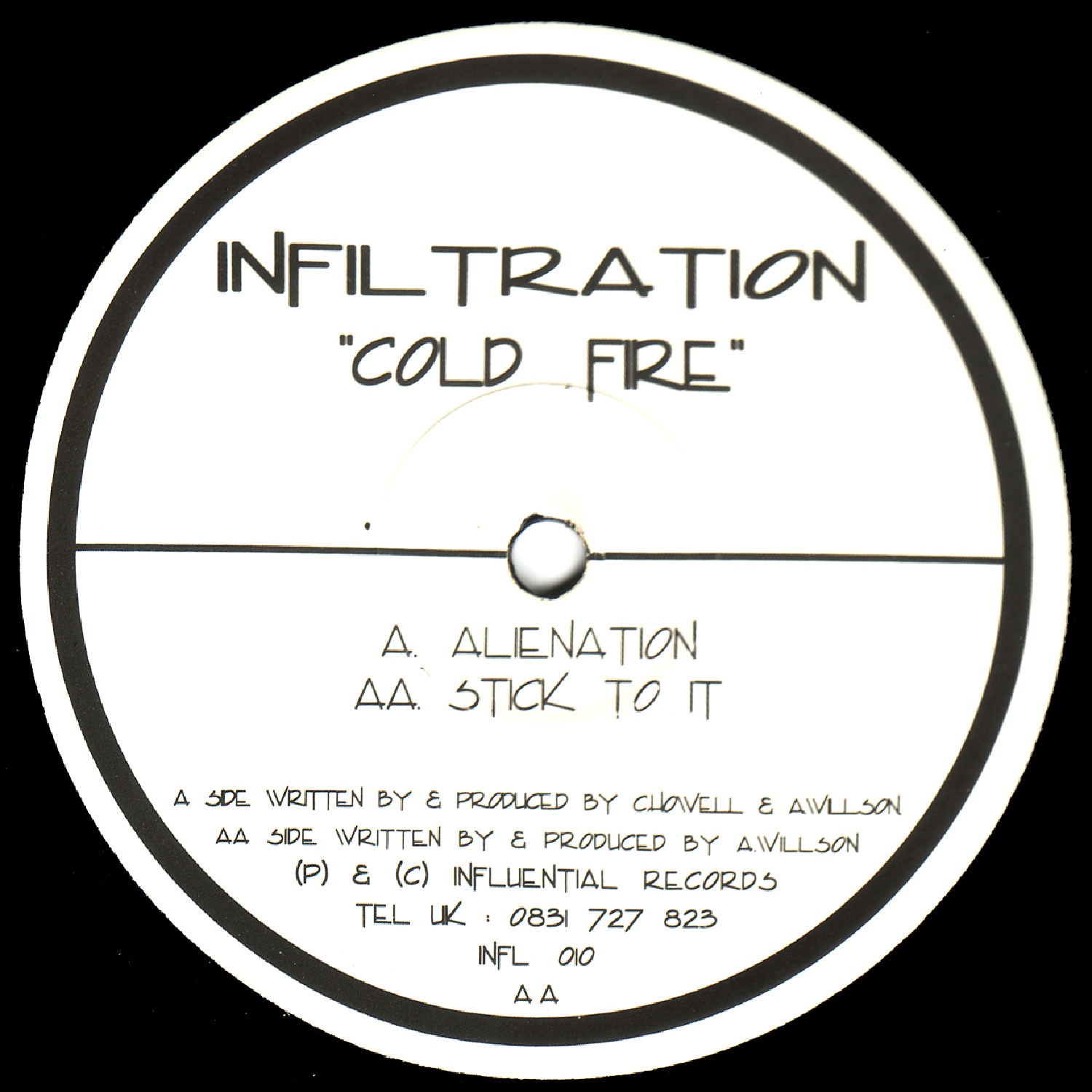 [INFL010] Cold Fire - Alienation EP (Digital Only)