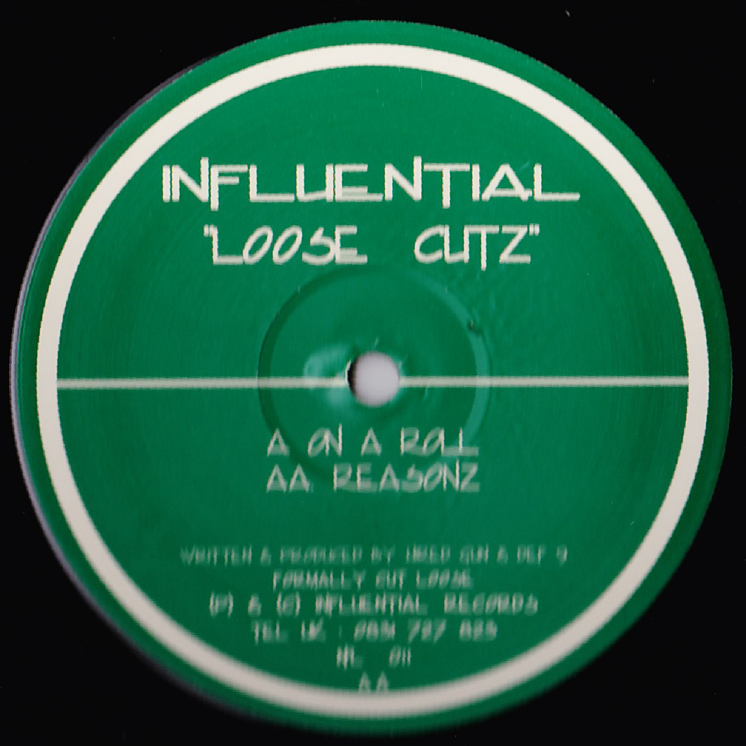 [INFL011] Loose Cutz - On A Roll EP (Digital Only)
