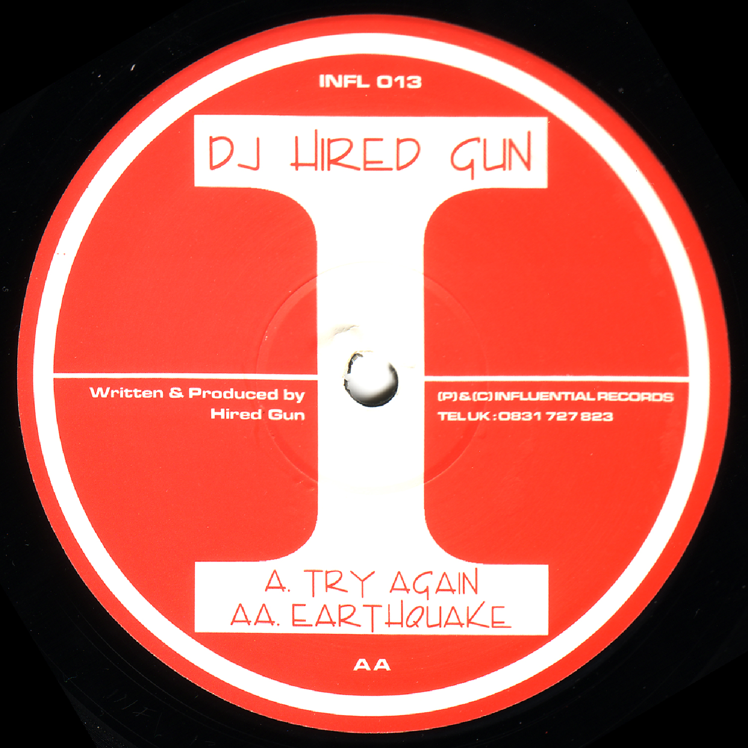 [INFL013] Hired Gun - Try Again EP (Digital Only)
