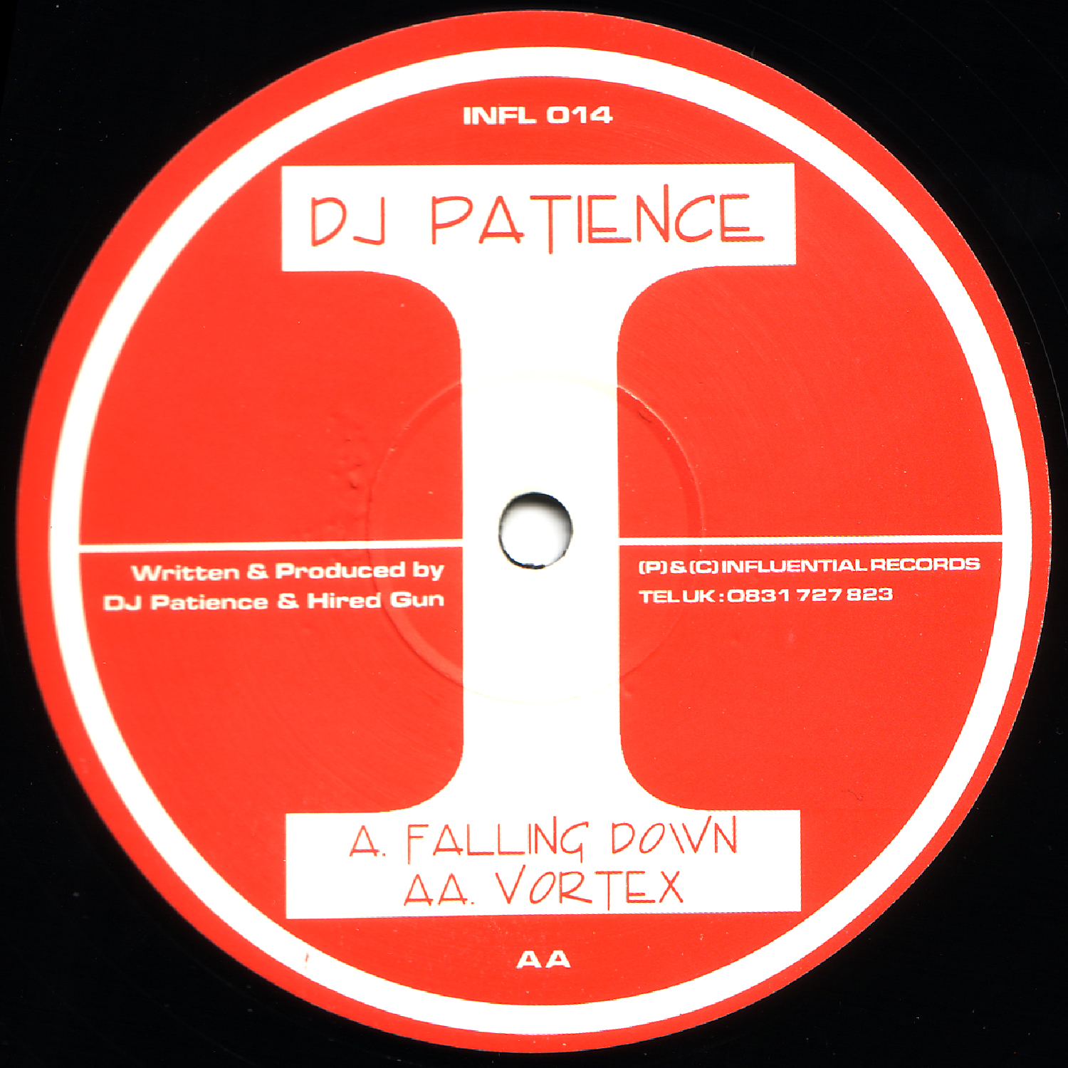 [INFL014] Dj Patience - Falling Down EP (Digital Only)