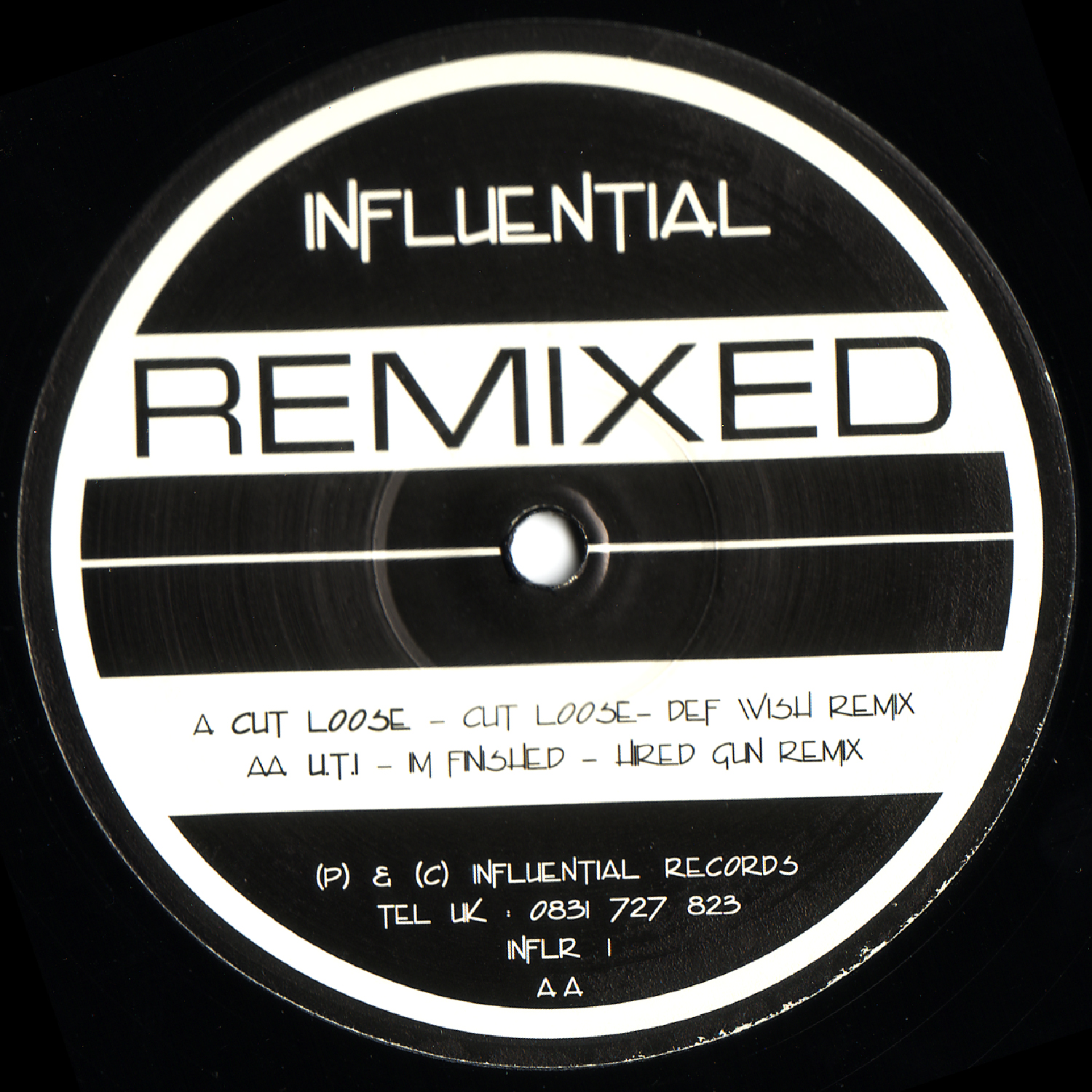 [INFLR001] Various - Influential Remixed 1 (Digital Only)