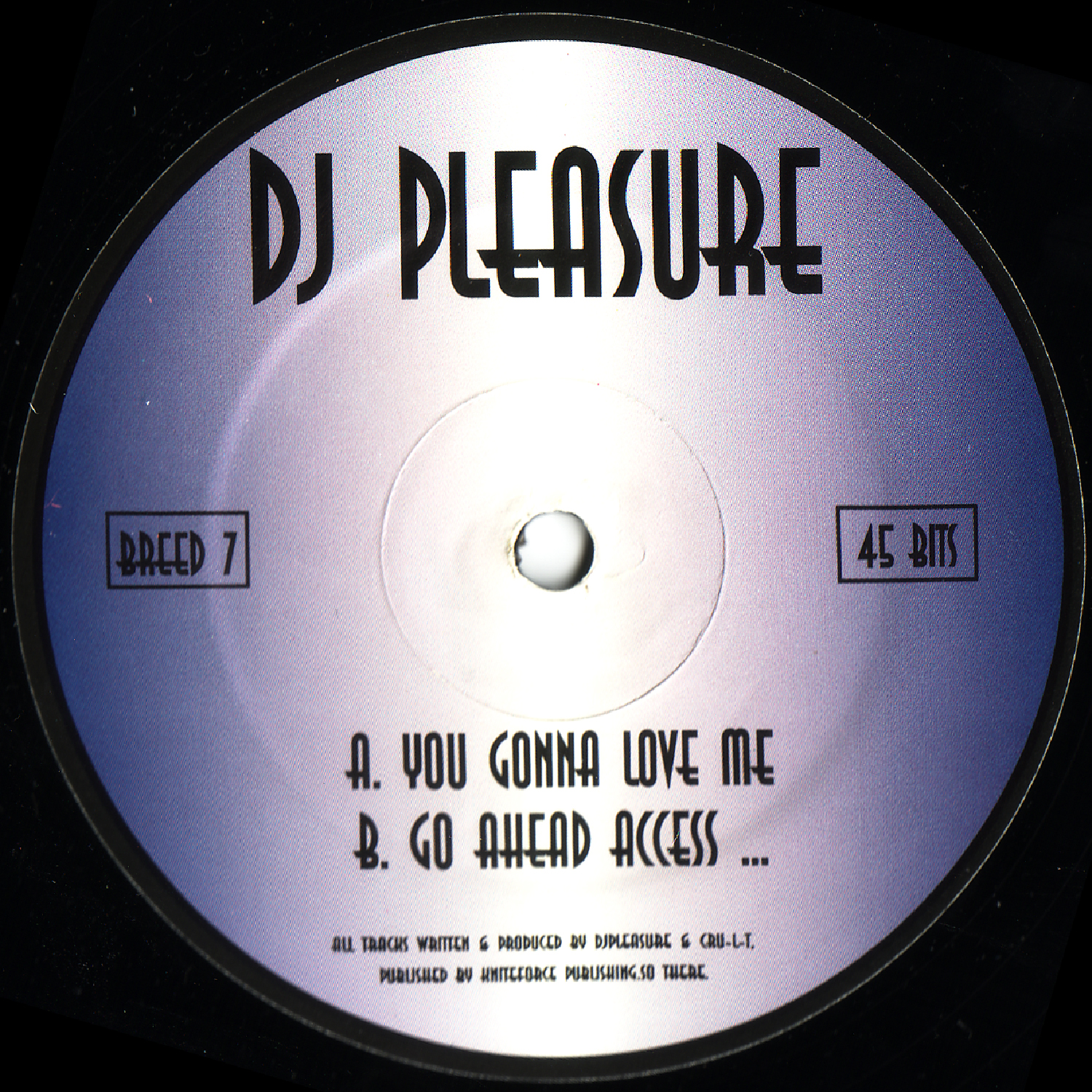 [BREED007] Dj Pleasure - You Gonna Love Me EP (Digital Only)