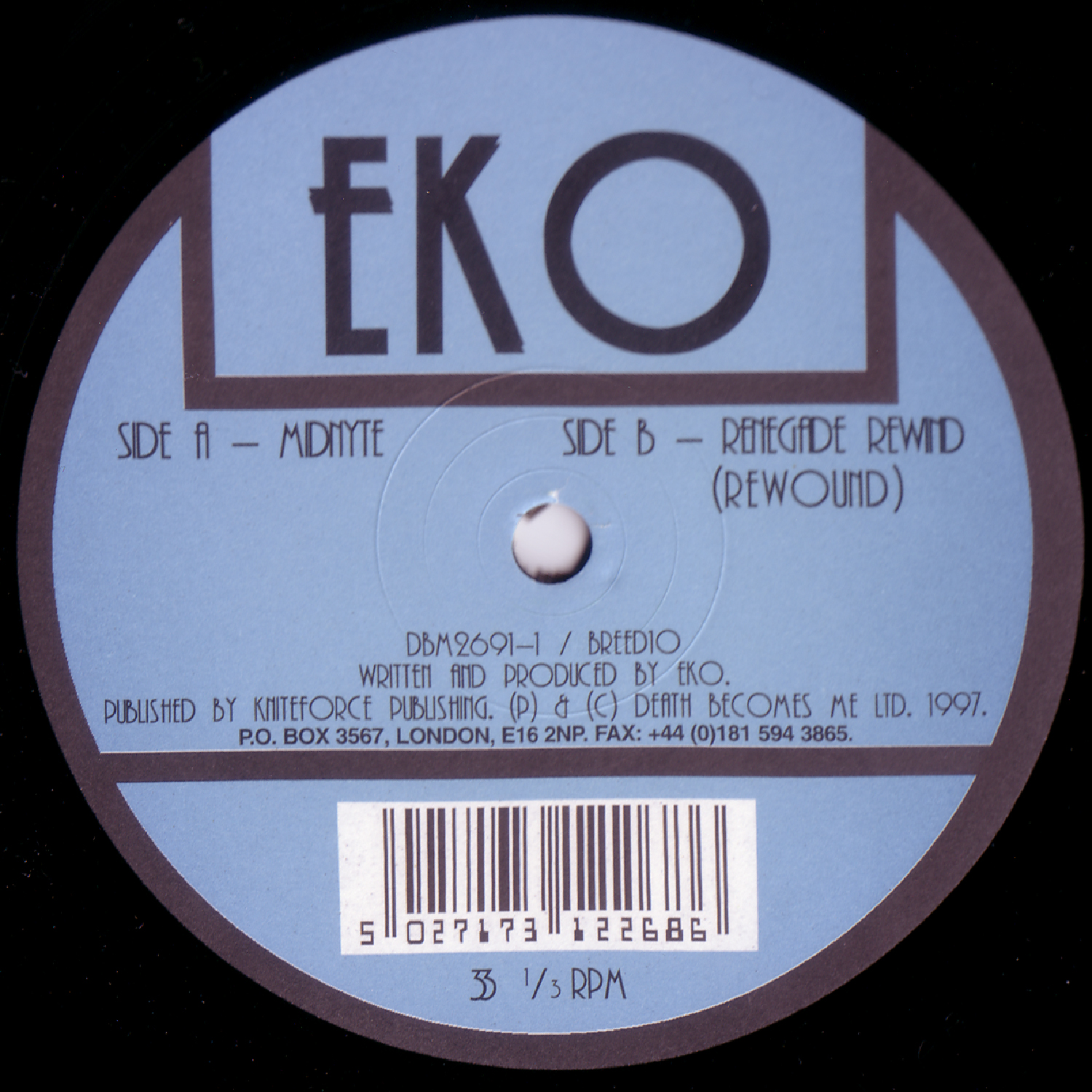 [BREED010] Eko - Midnyte EP (Digital Only)