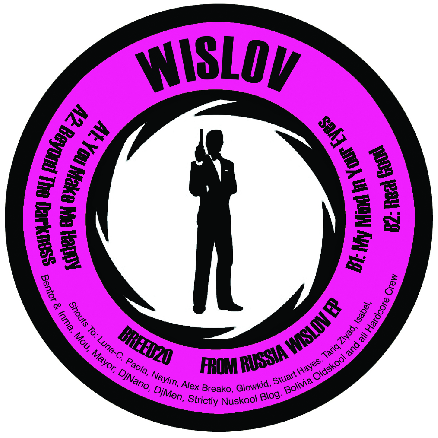 "[BREED020] Wislov - From Russia Wislov EP (12"" Vinyl + Digital)"