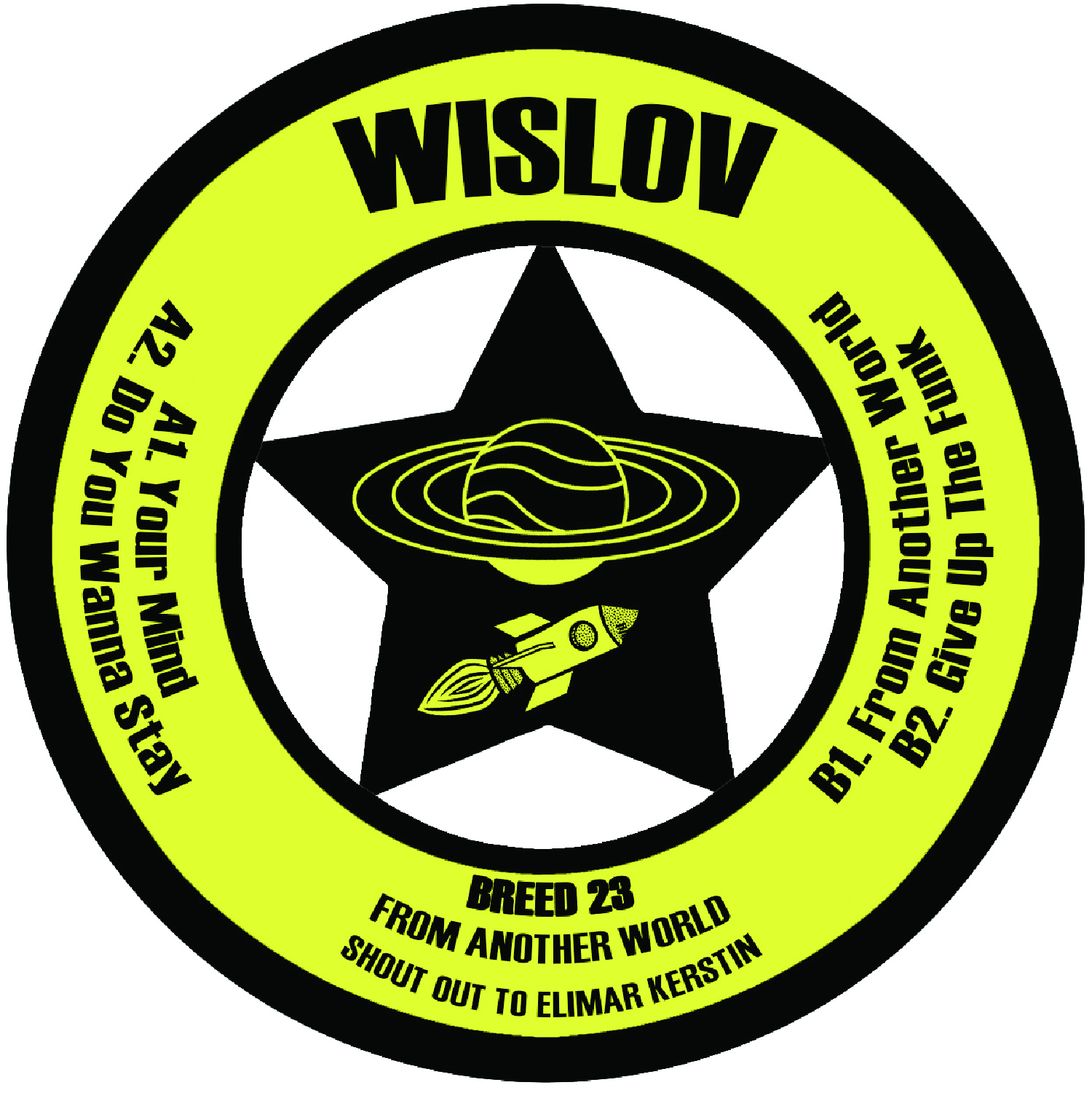"[BREED023] Wislov - From Another World EP (12"" Vinyl + Digital)"
