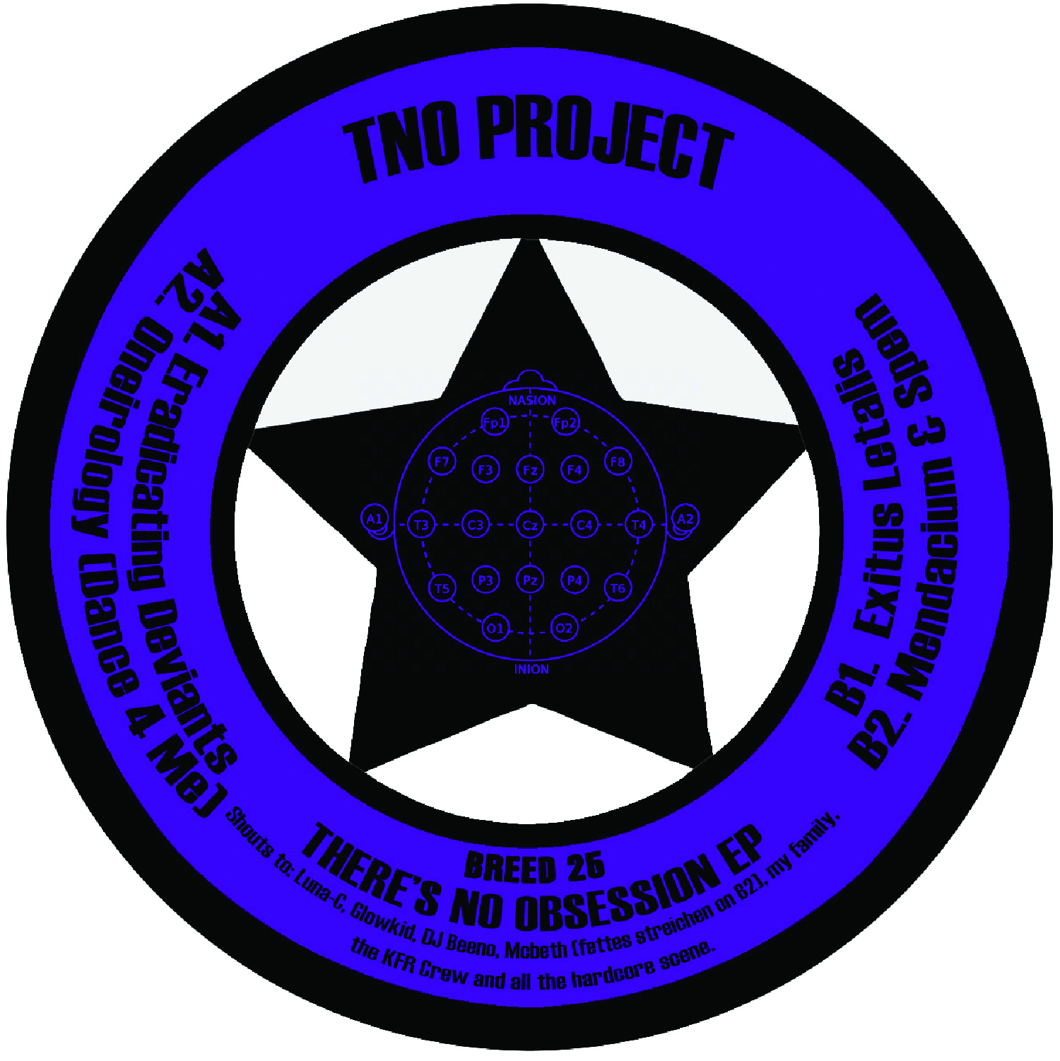 "[BREED025] TNO Project - There Is No Obsession EP (12"" Vinyl + Digital)"