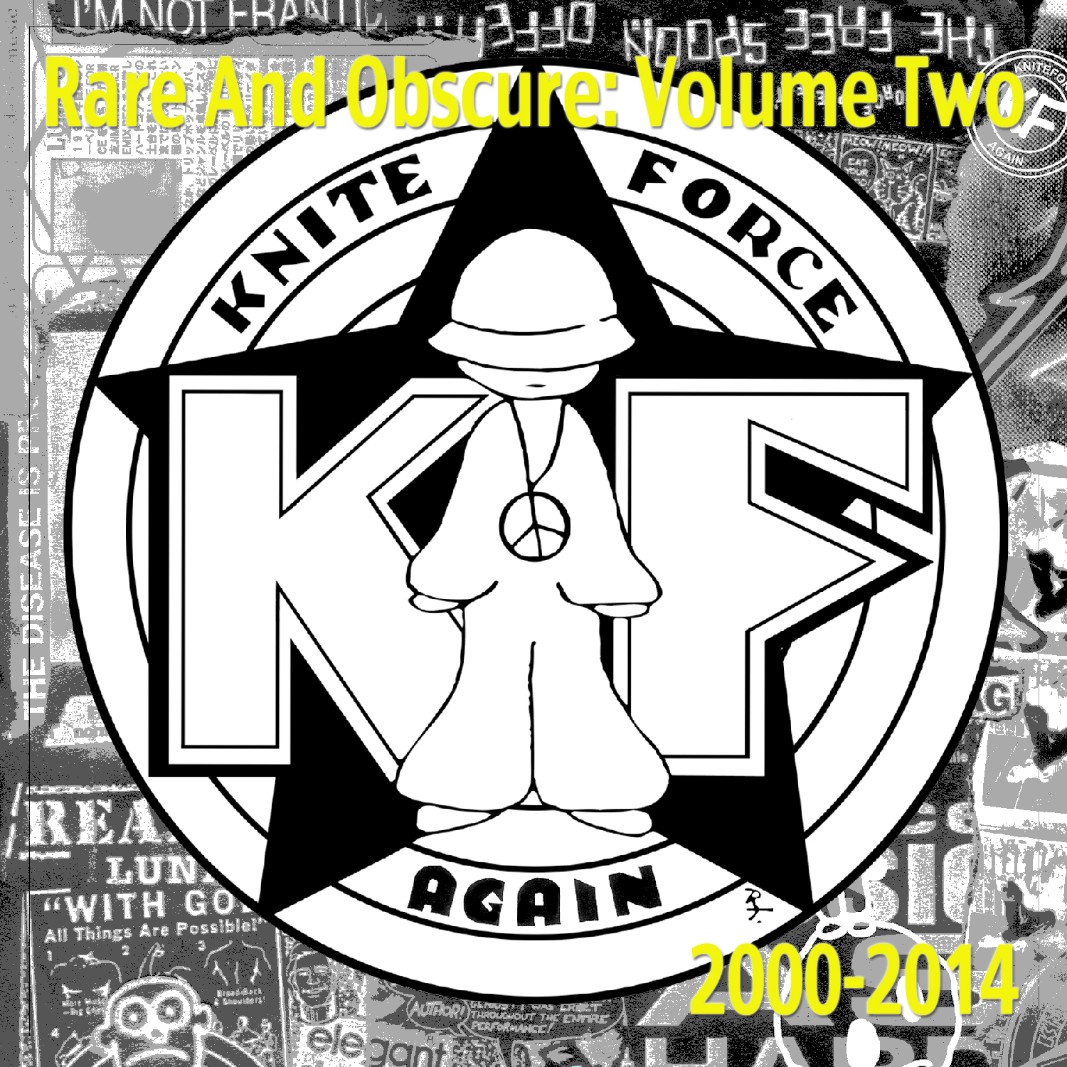[KFLP013] Various - Rare And Obscure Volume 2 (Digital Only)
