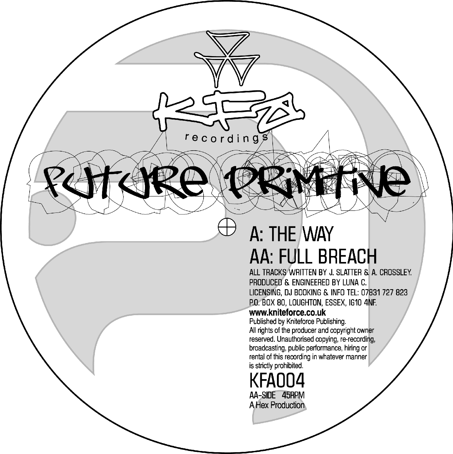 [KFA004] Future Primitive - The Way EP (Digital Only)
