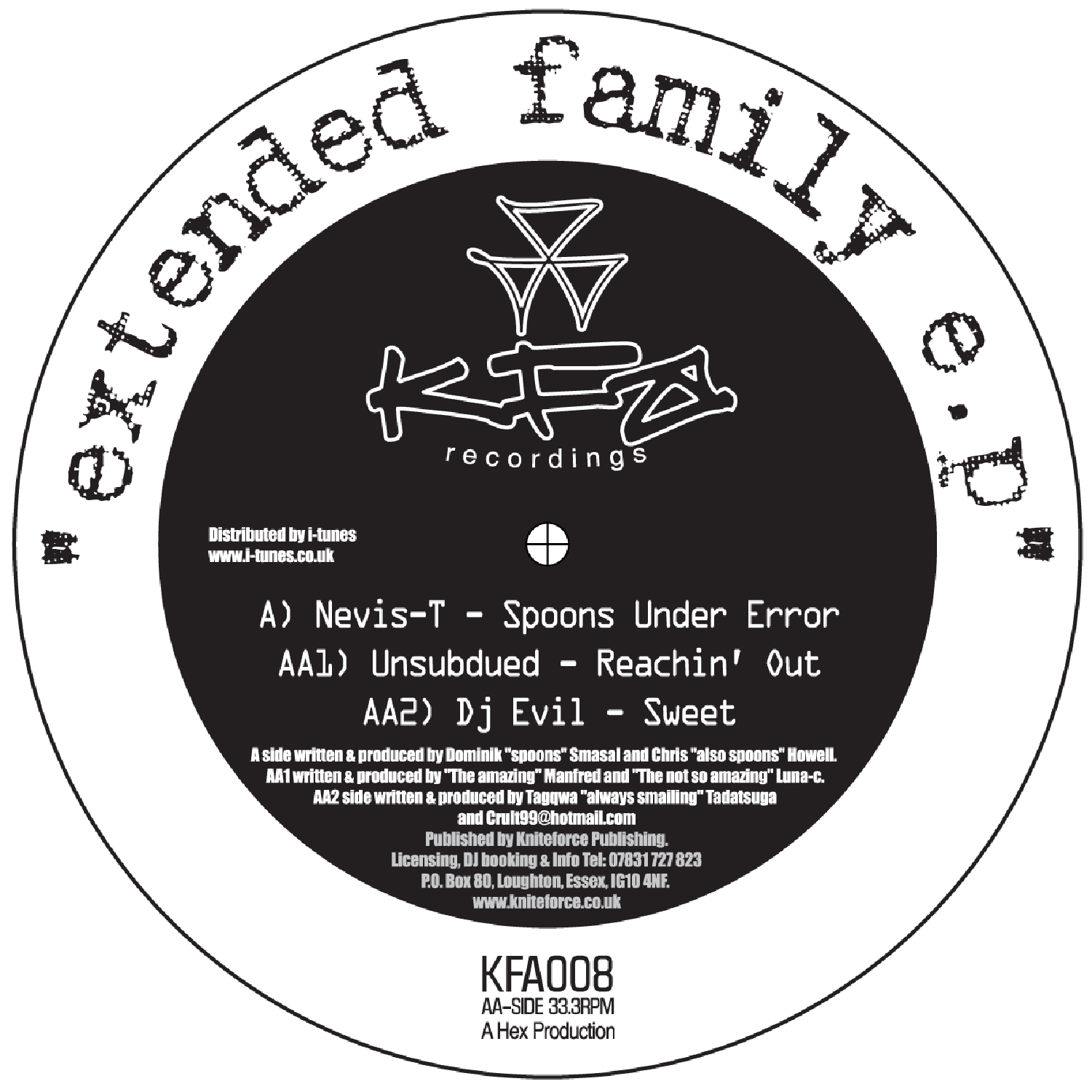 [KFA008] Various - Extended Family EP (Digital Only)