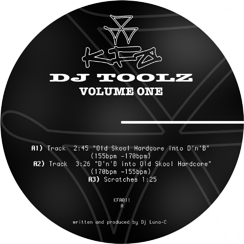 [KFA011] Luna-C - Dj Toolz Volume 1 (Digital Only)