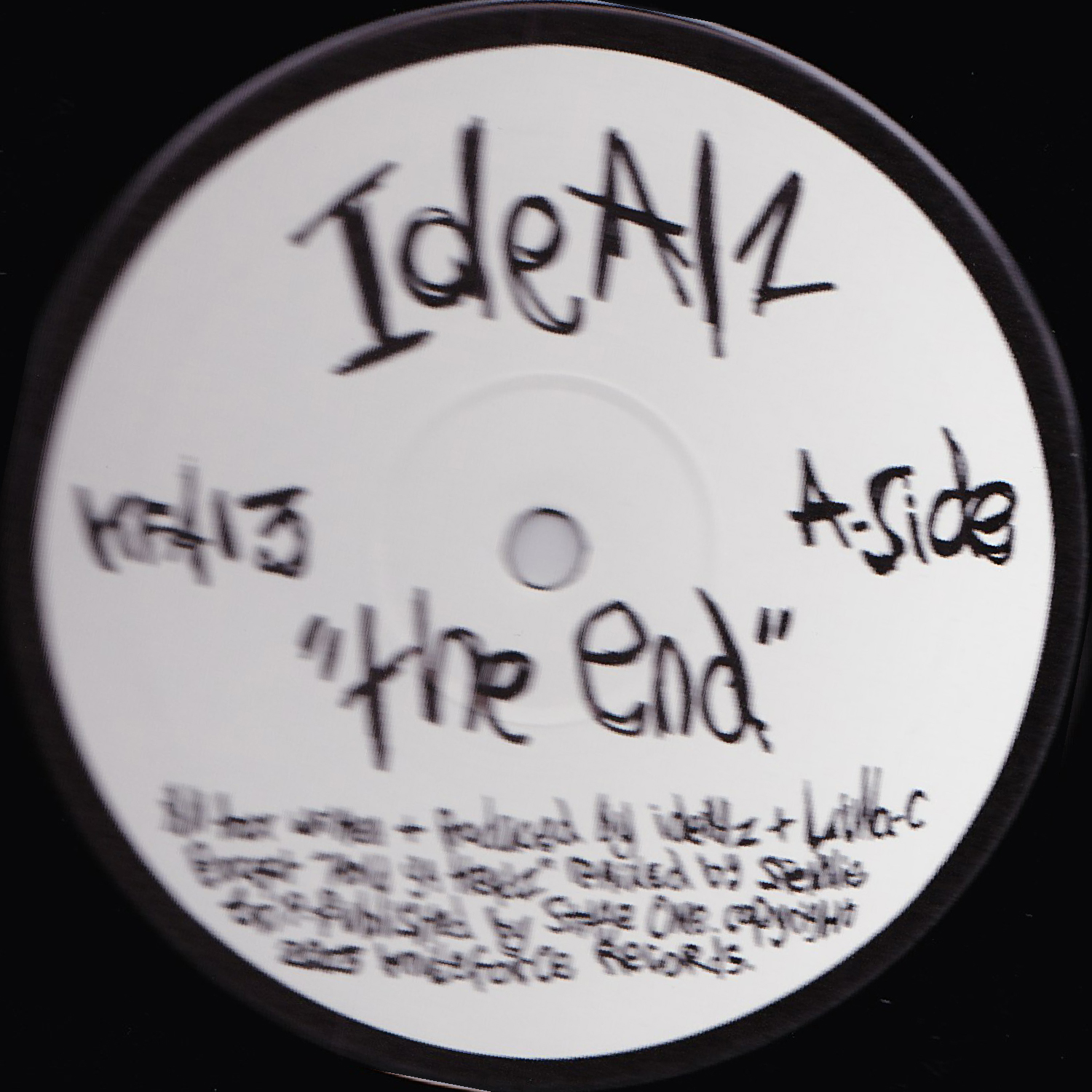 [KFA013] Idealz - The End EP (Digital Only)