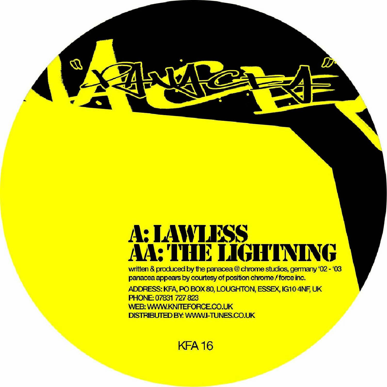 [KFA016] The Panacea - Lawless / Lightening EP (Digital Only)