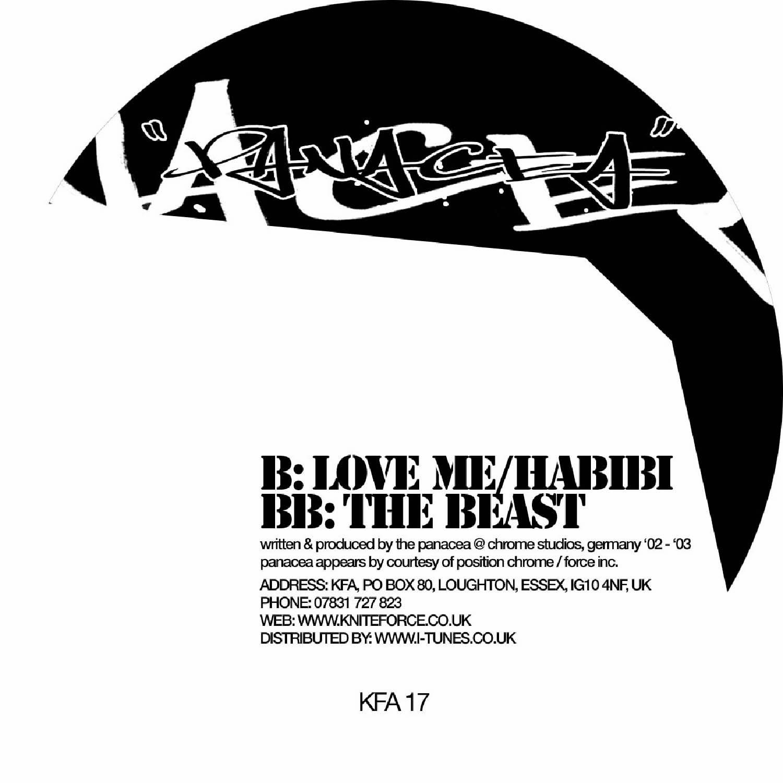 [KFA017] The Panacea - Love Me / Habibi EP (Digital Only)
