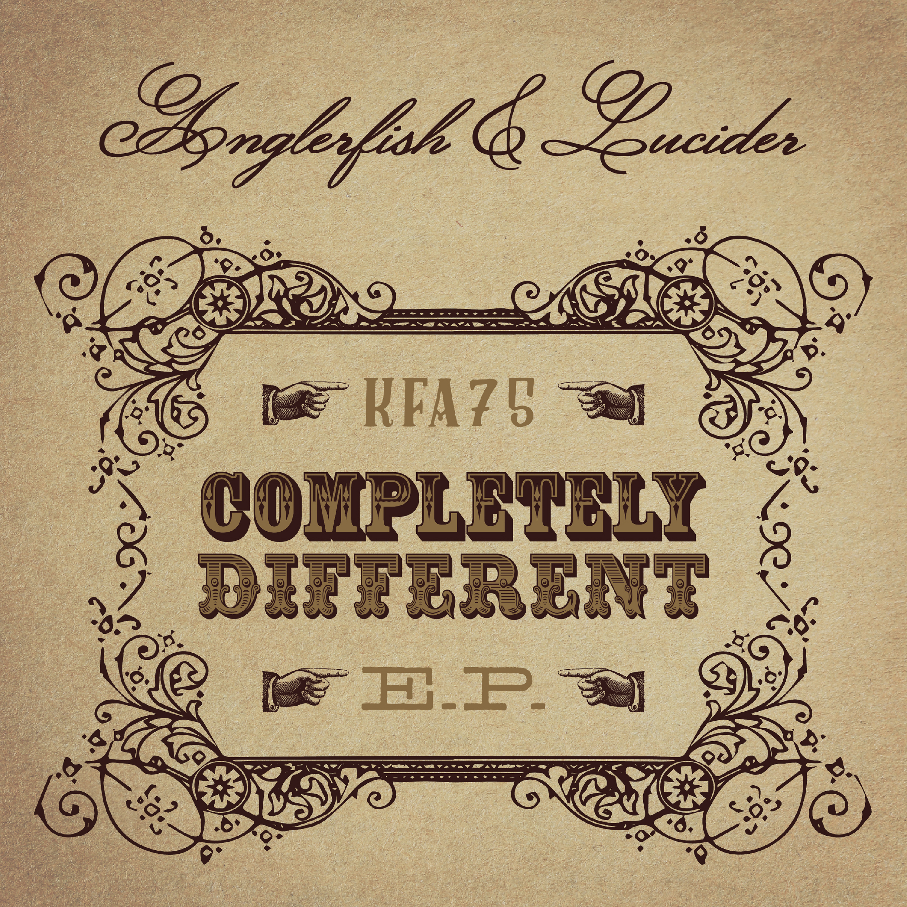 [KFA075] Anglerfish & Lucider - Completely Different EP (Digital Only)