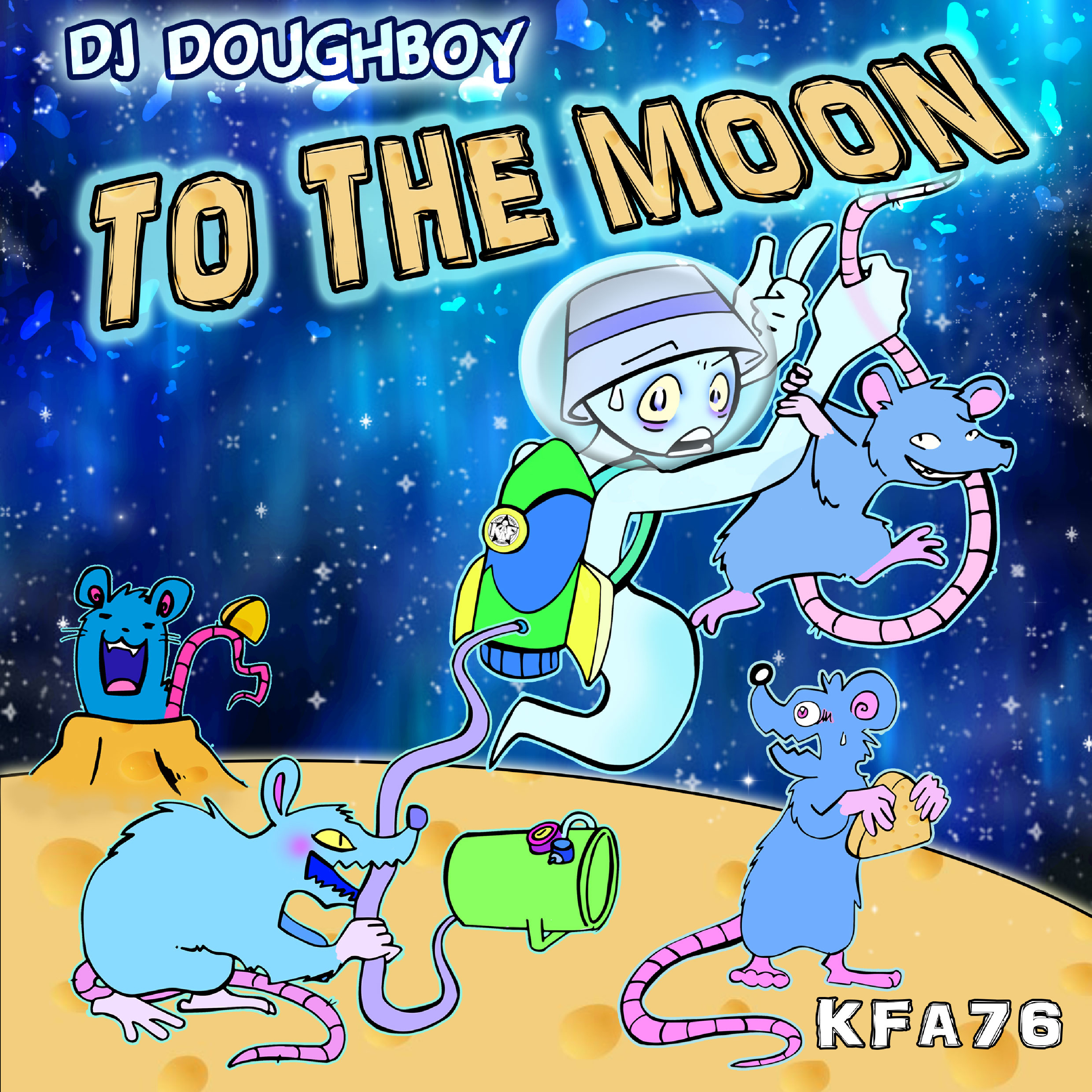 [KFA076] Doughboy - To The Moon EP (Digital Only)