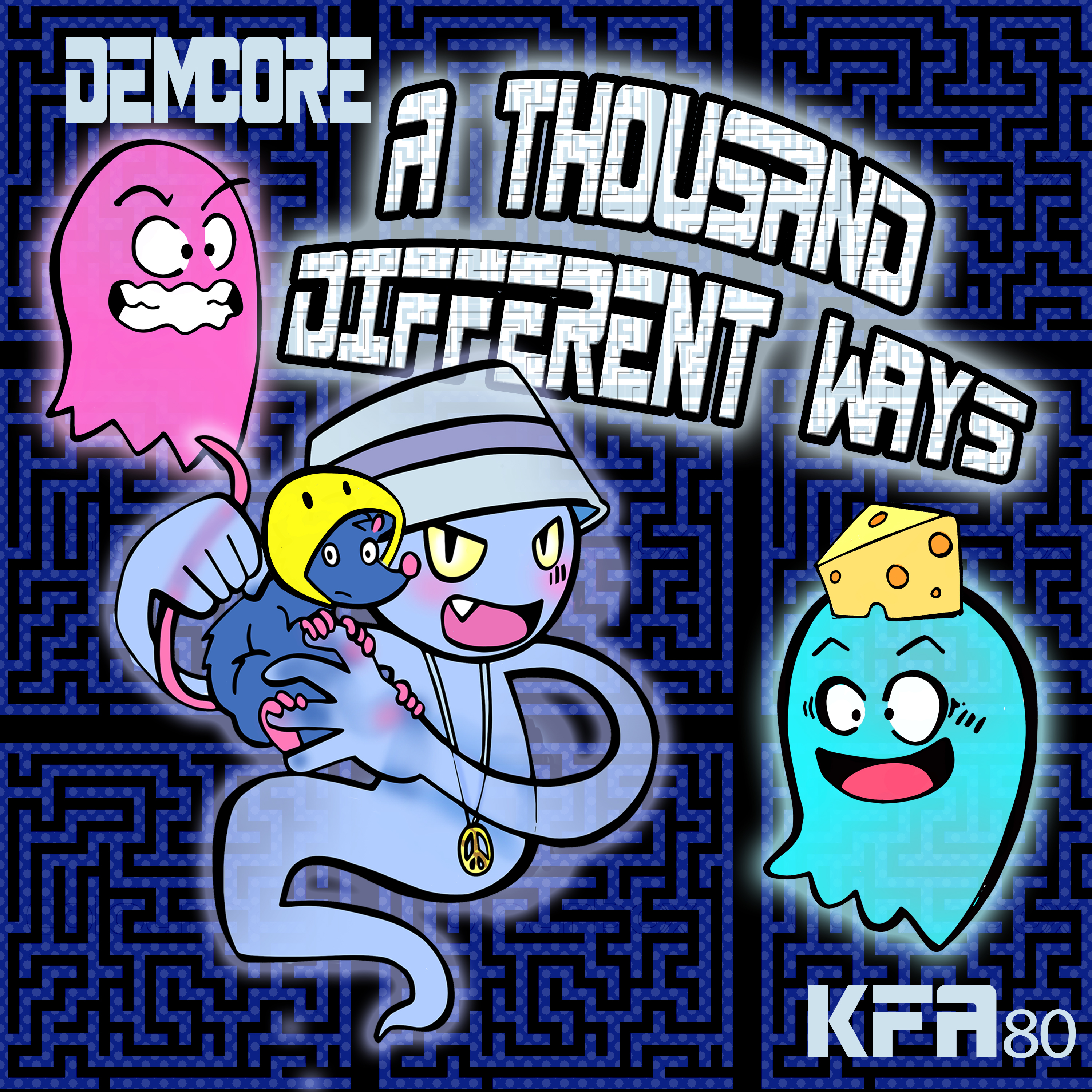 [KFA080] Demcore - A Thousand Different Ways EP (Digital Only)