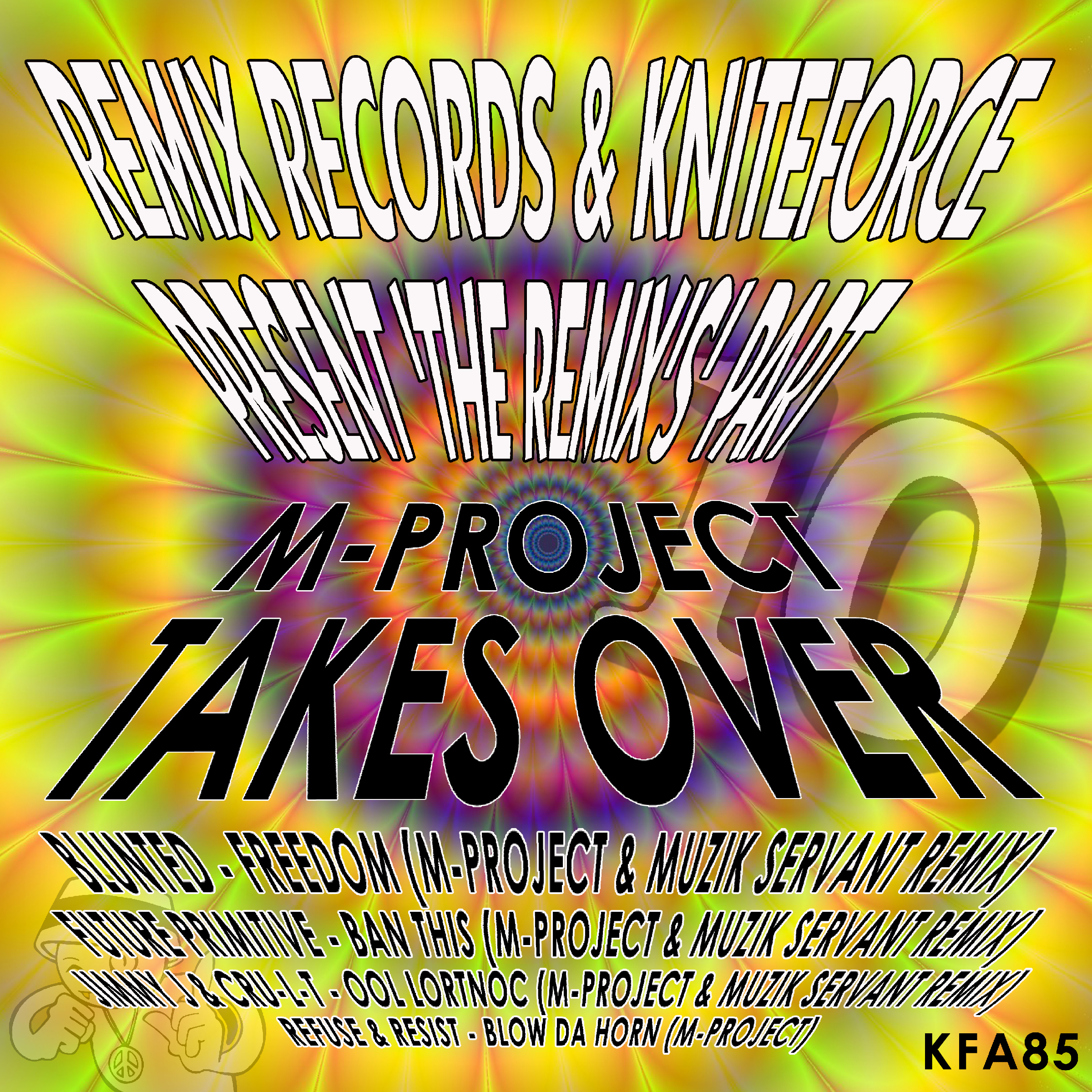 [KFA085] Various - M-Project Takes Over (Digital Only)