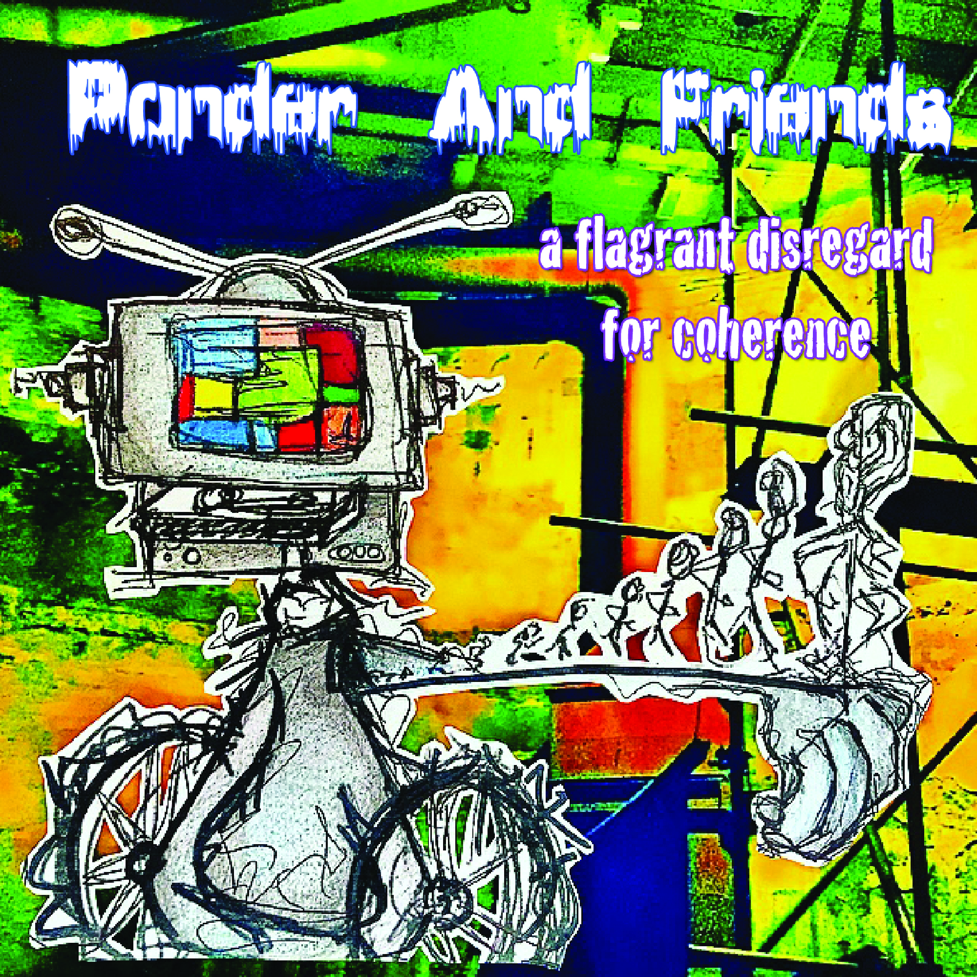 [KFA087] Ponder & Friends - A Flagrant Disregard For Coherence (Digital Only)