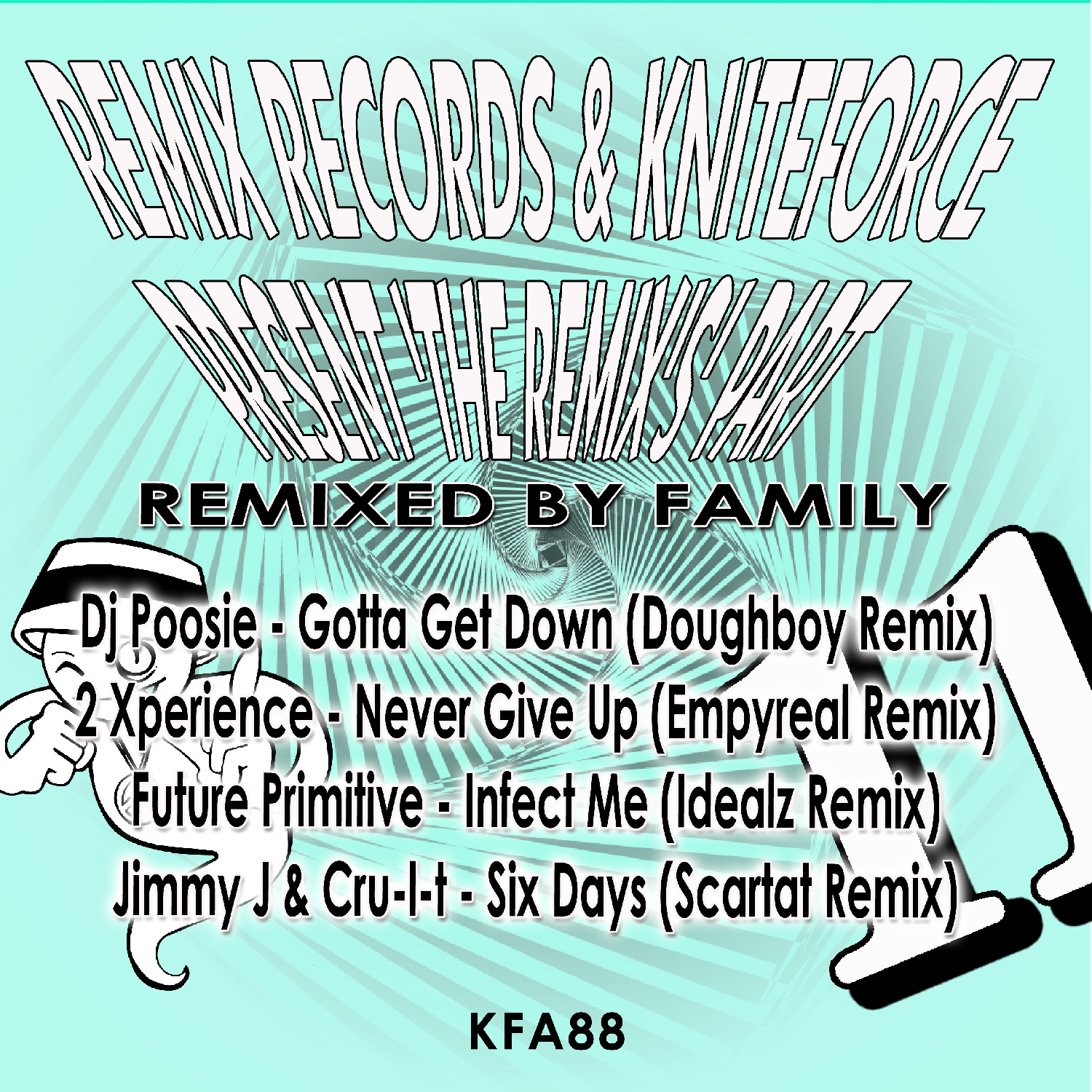 [KFA088] Various - Remixed By Family EP (Digital Only)