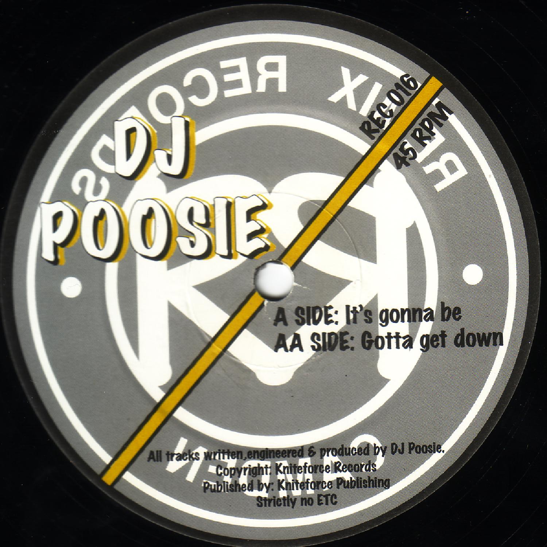 [REC016] DJ Poosie - Its Gonna Be EP (Digital Only)