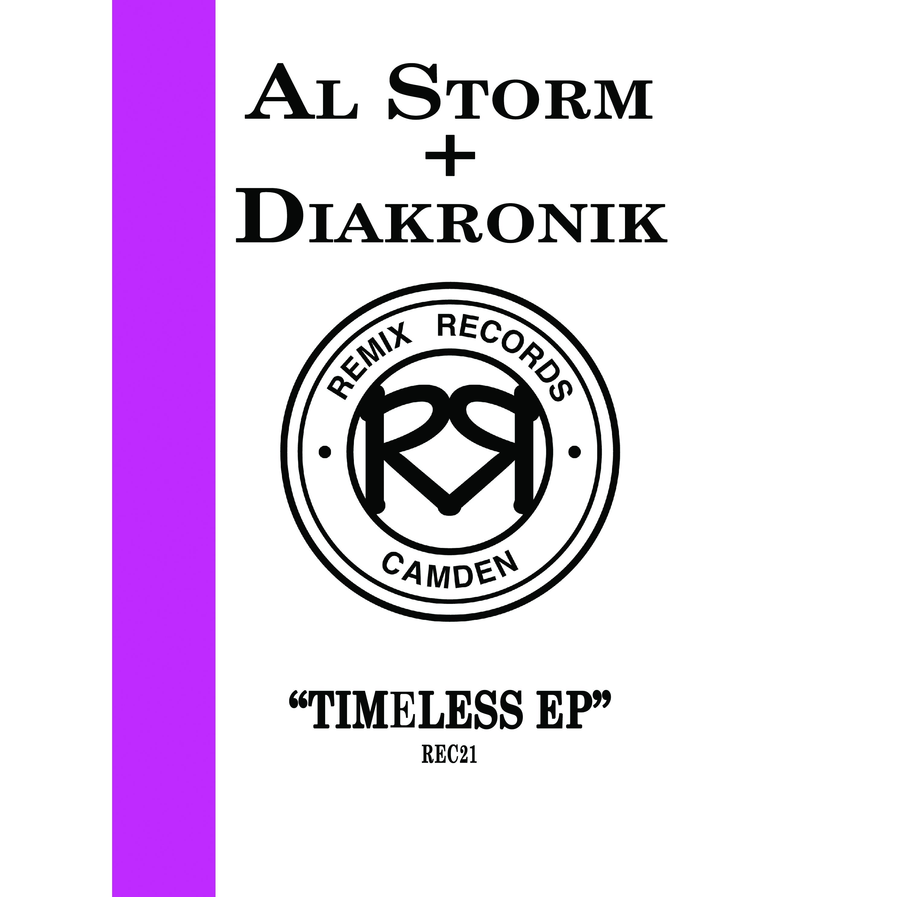 """[REC021] Al Storm & Diakronik - Timeless EP (12"""" Vinyl + Digital)"""